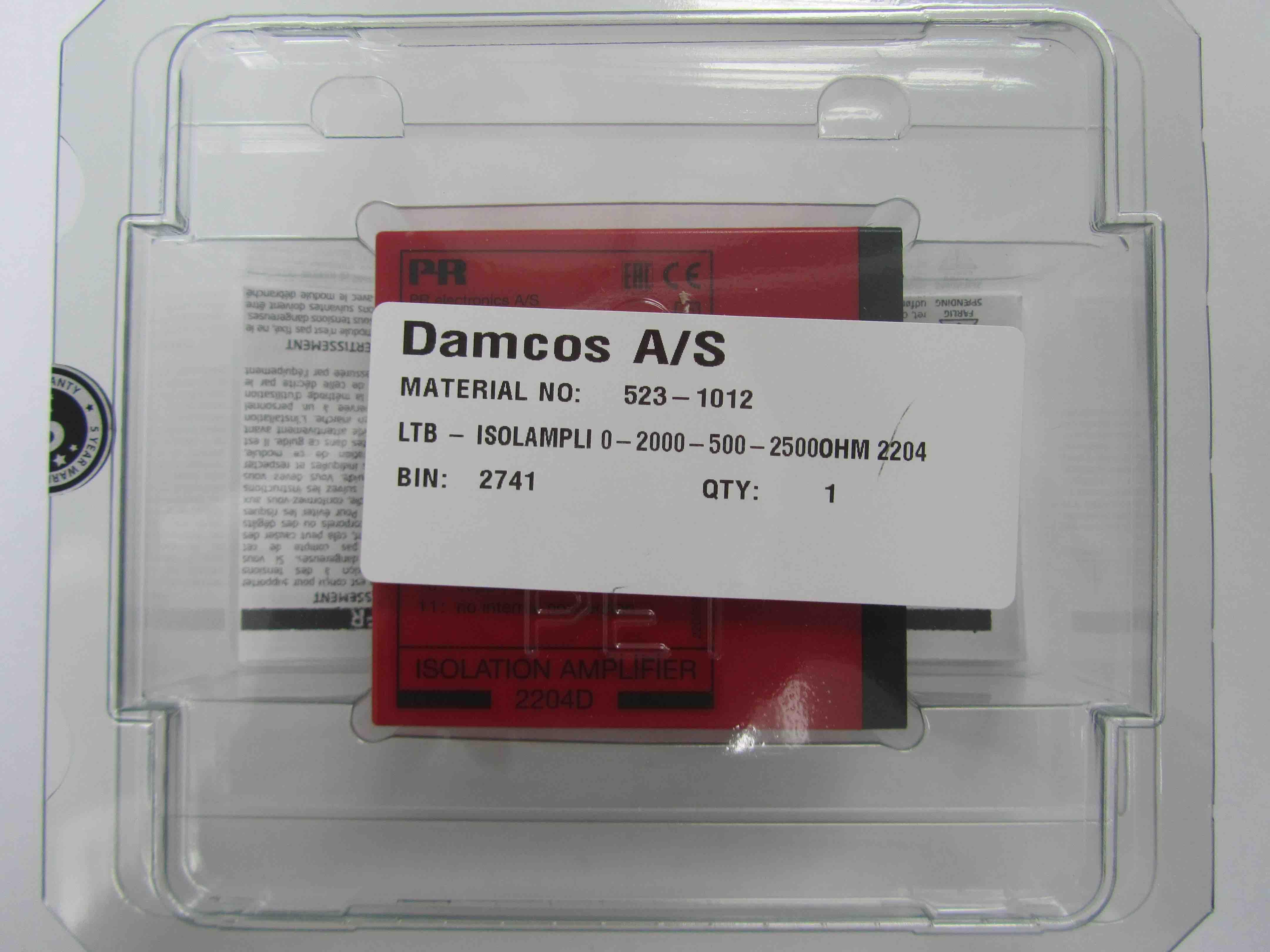 Damcos 523-1012