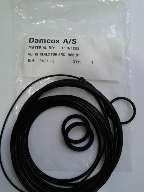 Damcos BRC 1000-A1 Seal Kit, Part no 160N1262