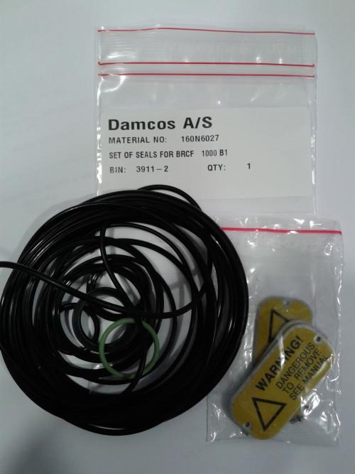 Damcos BRCF-1000-B1 Seal:Packing Kit 160N6027