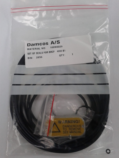 Damcos BRCF 4000-B1 : FO Actuator Seal:Packing Kit, Part no- 160N6029