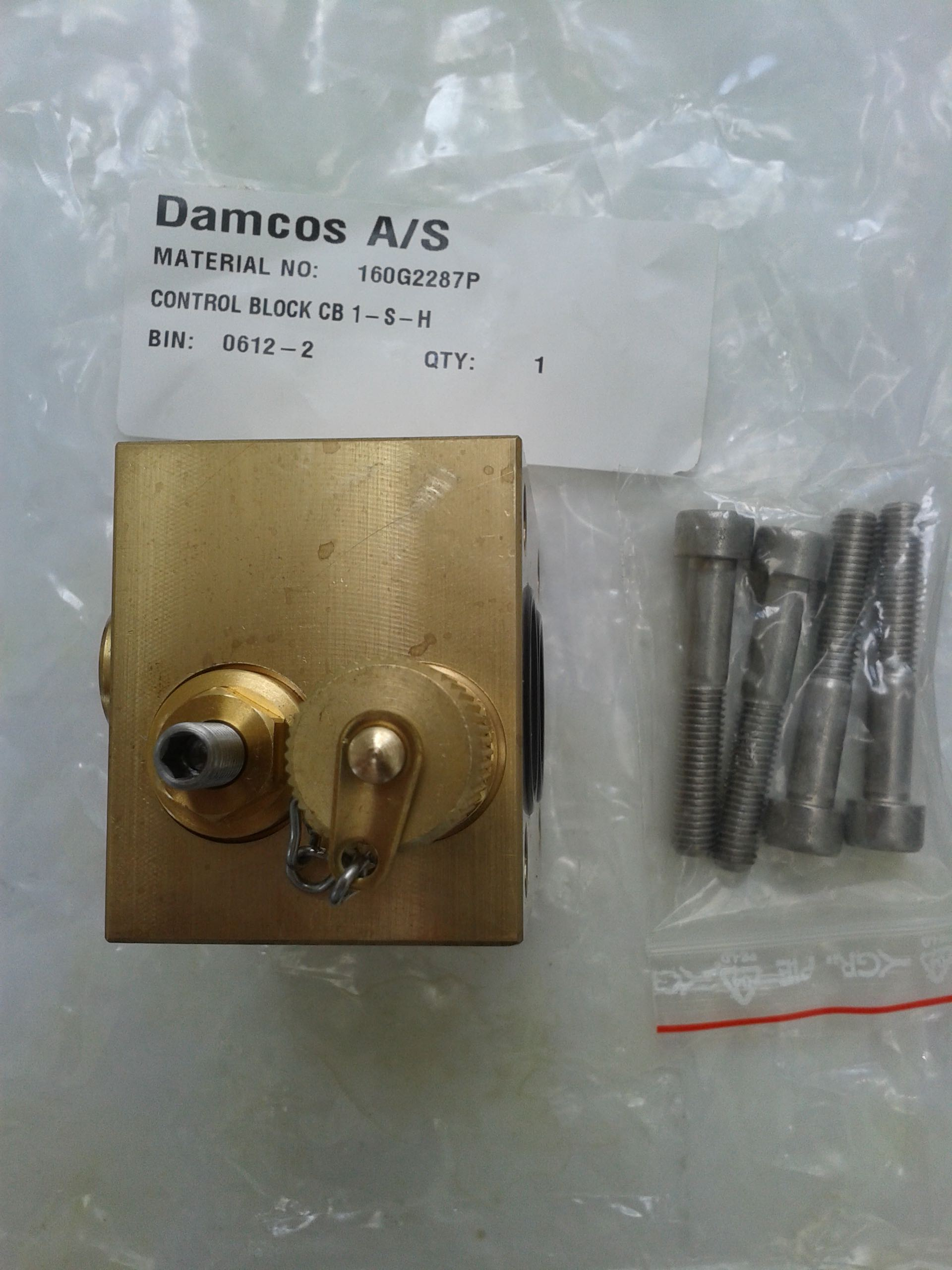 Damcos CB 1-S-H 160G2287P Control block