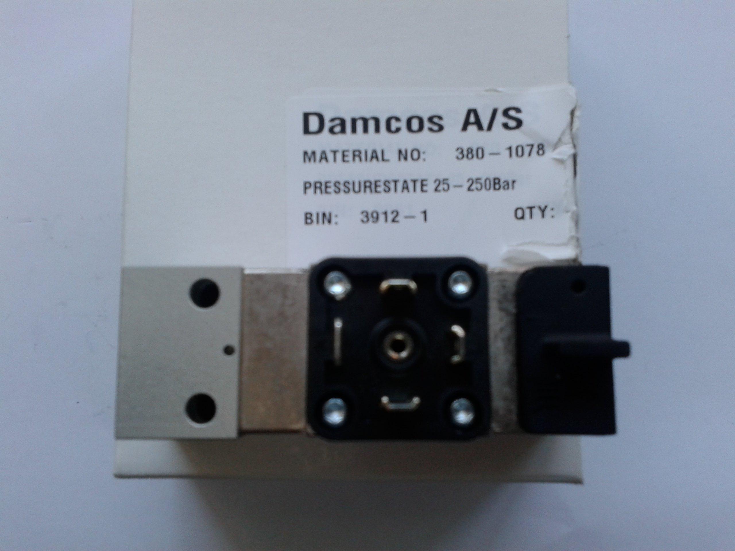 Damcos : Danfoss 380-1078 Pressurestate 25-250 Bar image