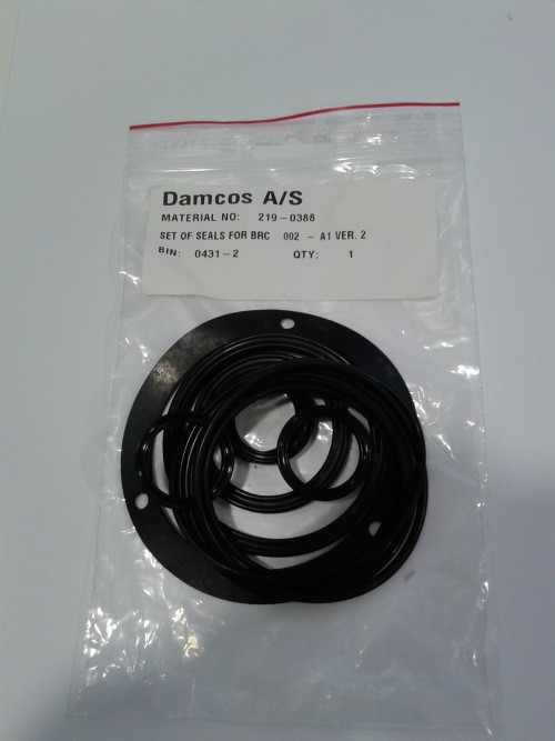 Damcos : Danfoss BRC 002 A1 Actuator Seal Kit (219-0388)