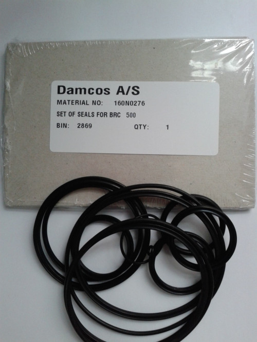 Damcos : Danfoss BRC 500 Seal Kit 160N0276