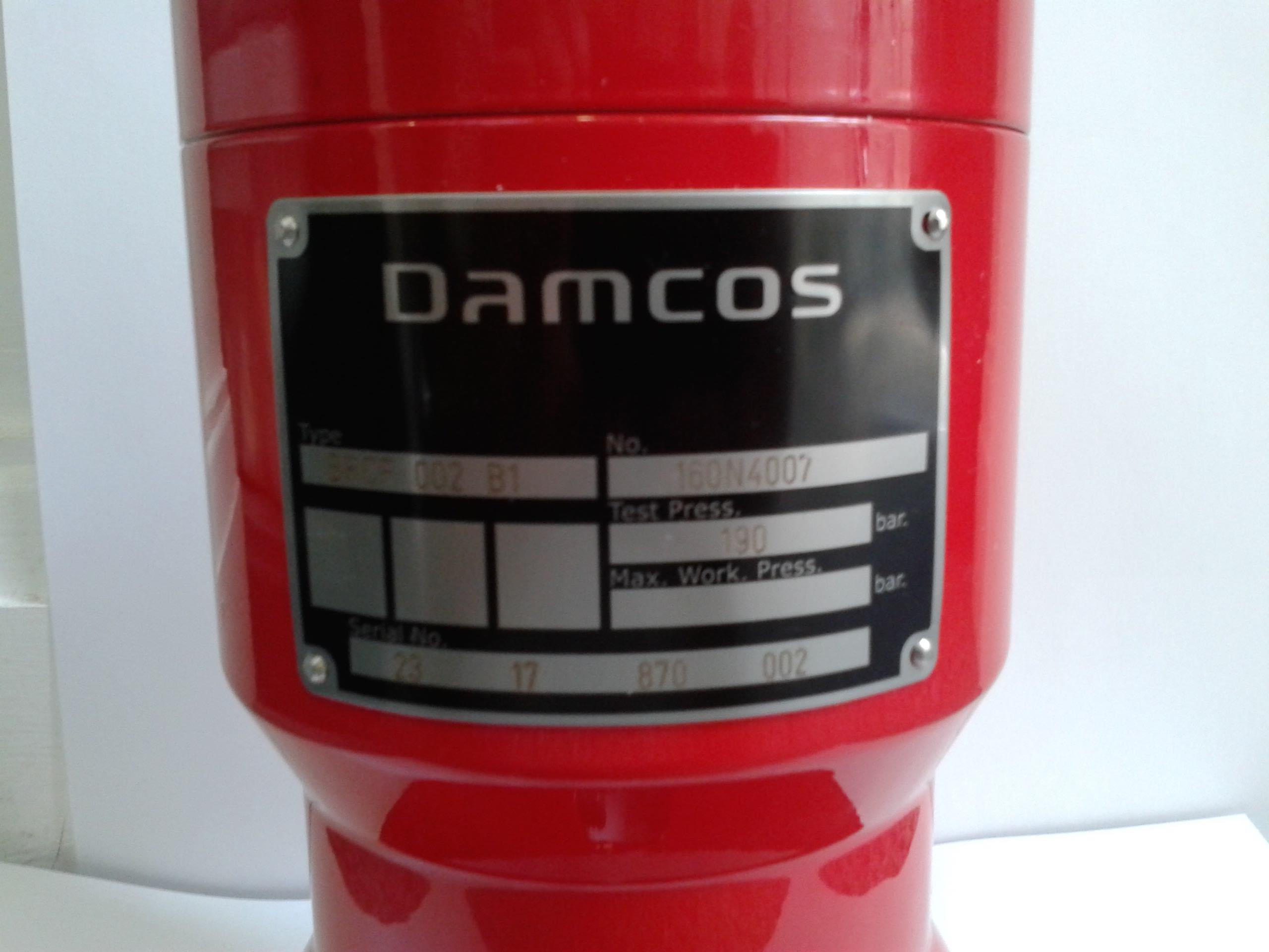 Damcos Danfoss BRCF-002-B1 160N4007
