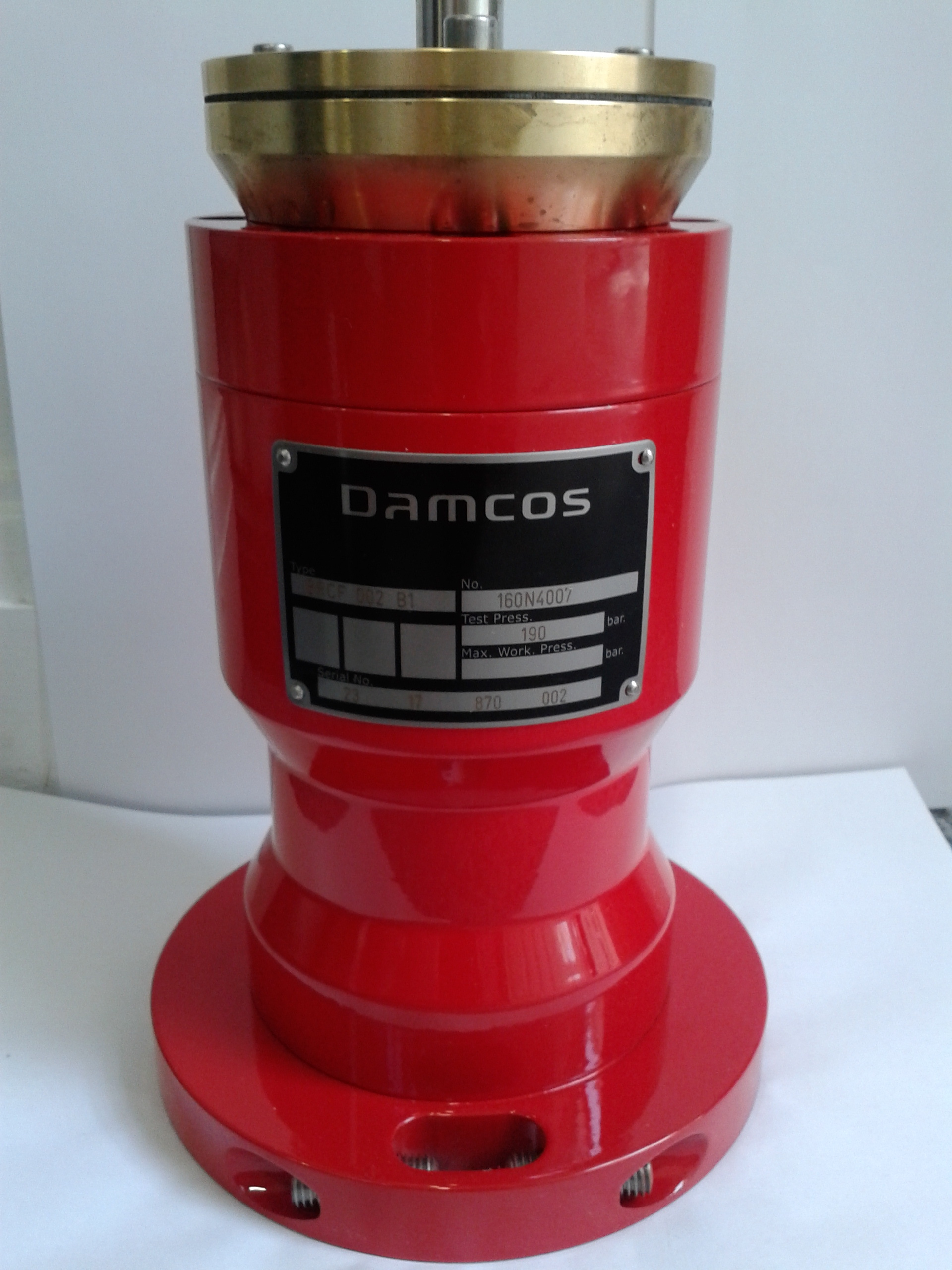 Damcos Danfoss BRCF-002-B1 Actuator 160N4007