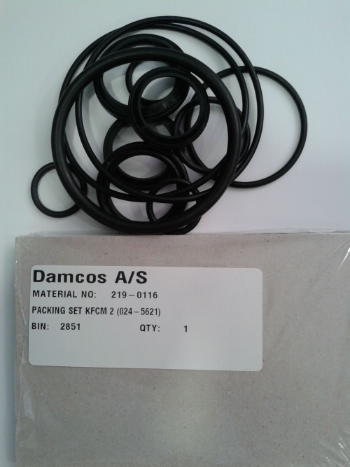 Damcos Danfoss KFCM 2 Seal Kit 219-0116