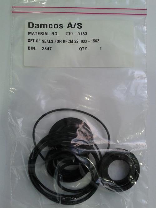 Damcos : Danfoss KFCM 22 Actuator Seal Kit 219-0163