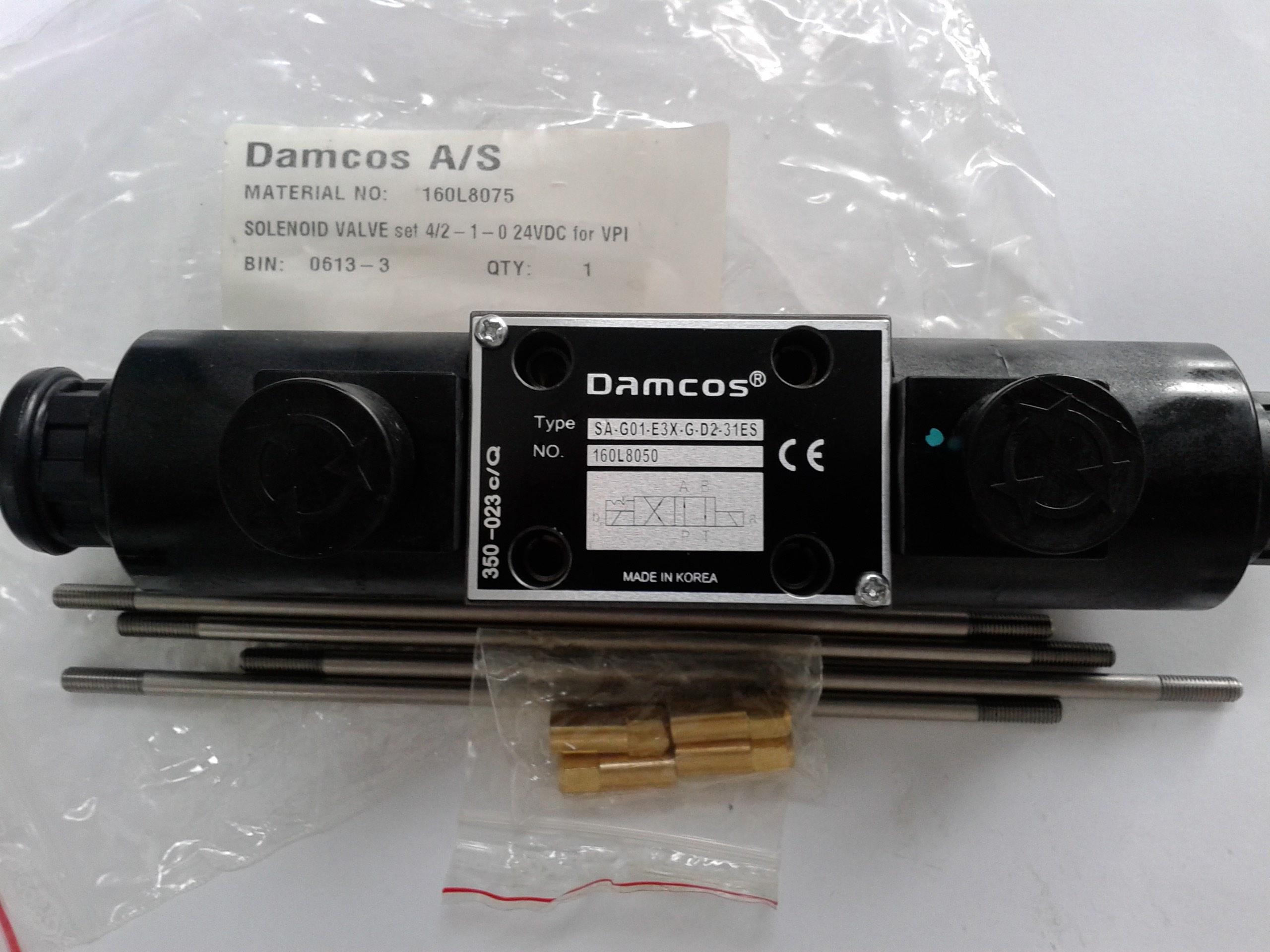 Damcos : Danfoss Solenoid Valve 160L8050 (160L8075) Image