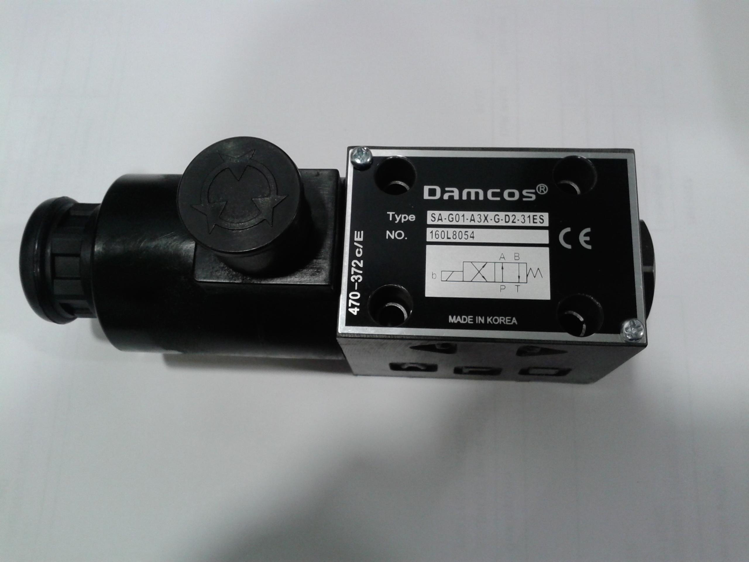 Damcos-Danfoss-Solenoid-Valve-SA-G01-A3X-G-D2-31ES-160L8054-