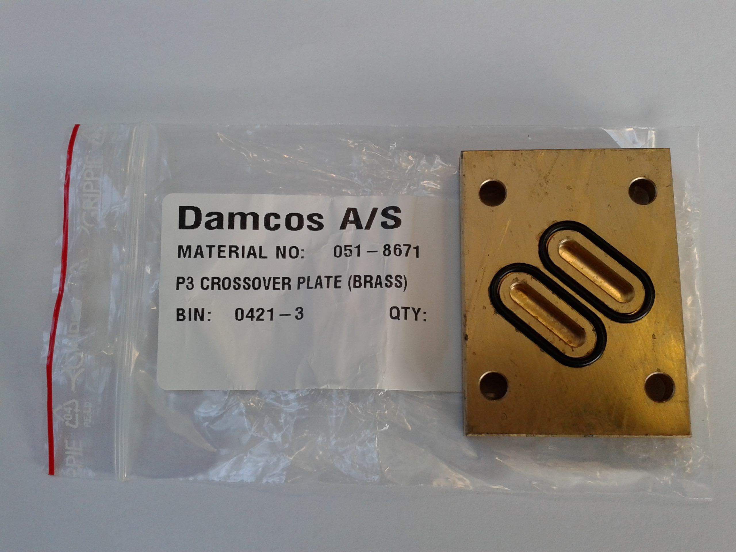 Damcos-P3-Crossover-Plate-051-8671