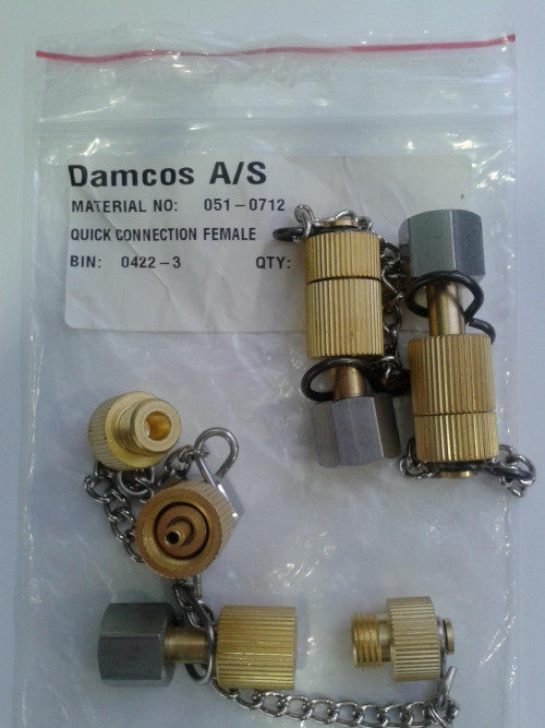Damcos PHP Hose Connector Quick Connection Female  Part No. 051-0712