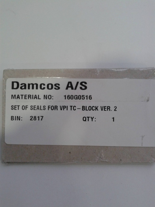 Damcos VPI-TC Block Seal Kit 160G0516