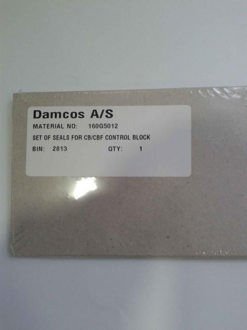 Damcos:Danfoss Seal Kit  Set Of Seals For CB:CBF Control Block  Part No. 160G5012
