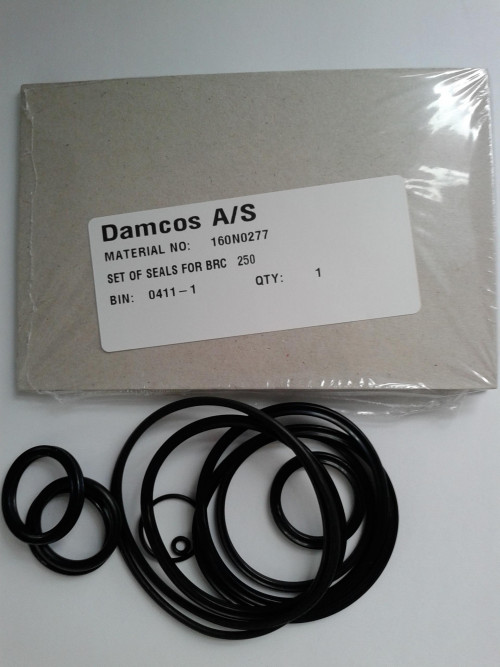 Danfoss BRC-250 Seal Kit Part No 160N0277