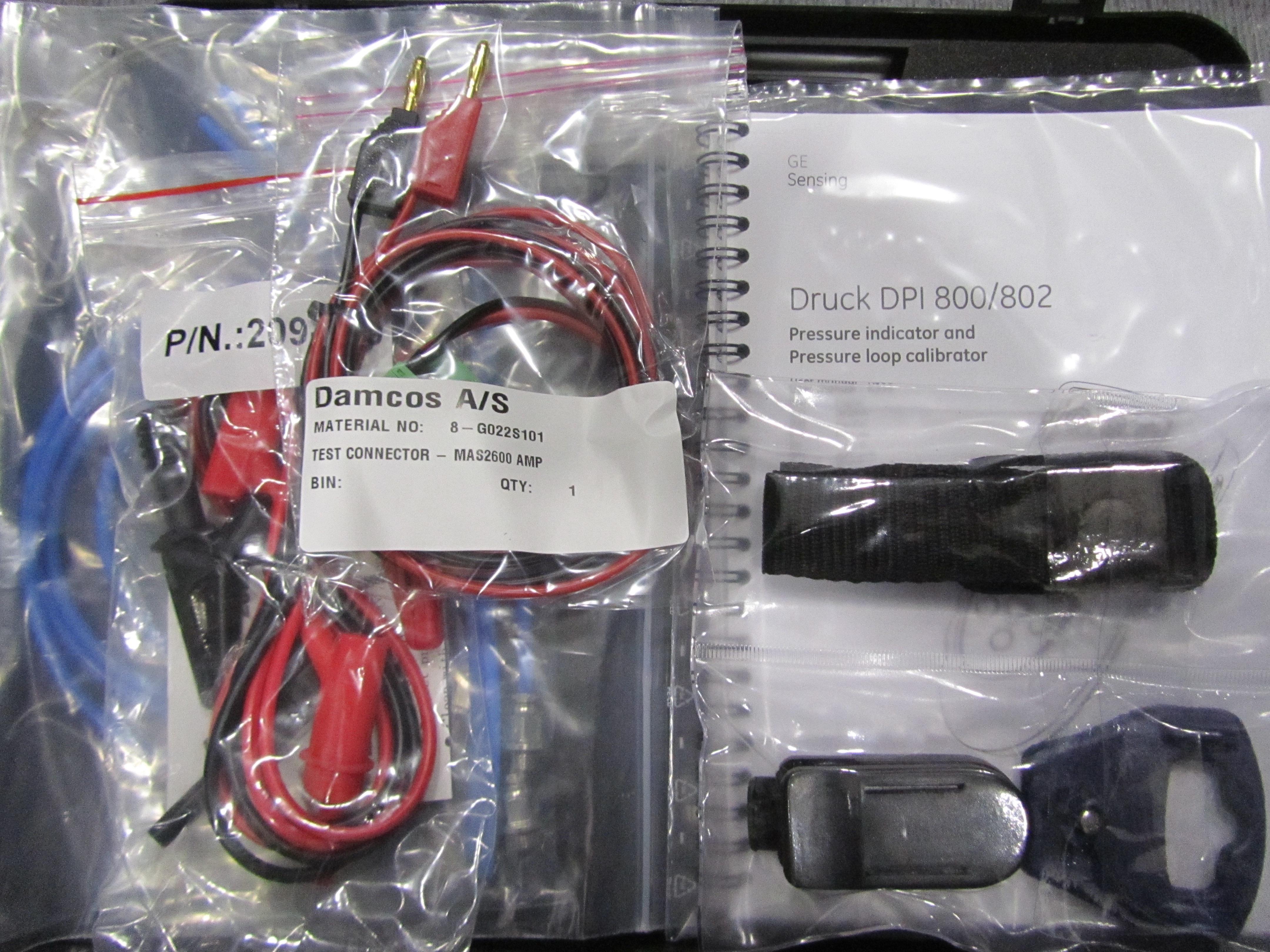 Emerson Damcos MAS2600 Calibrator Kit 8-DPI802P CAL KIT – Damcos Parts