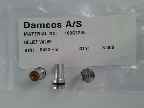Damcos 160G2236 Relief Valve