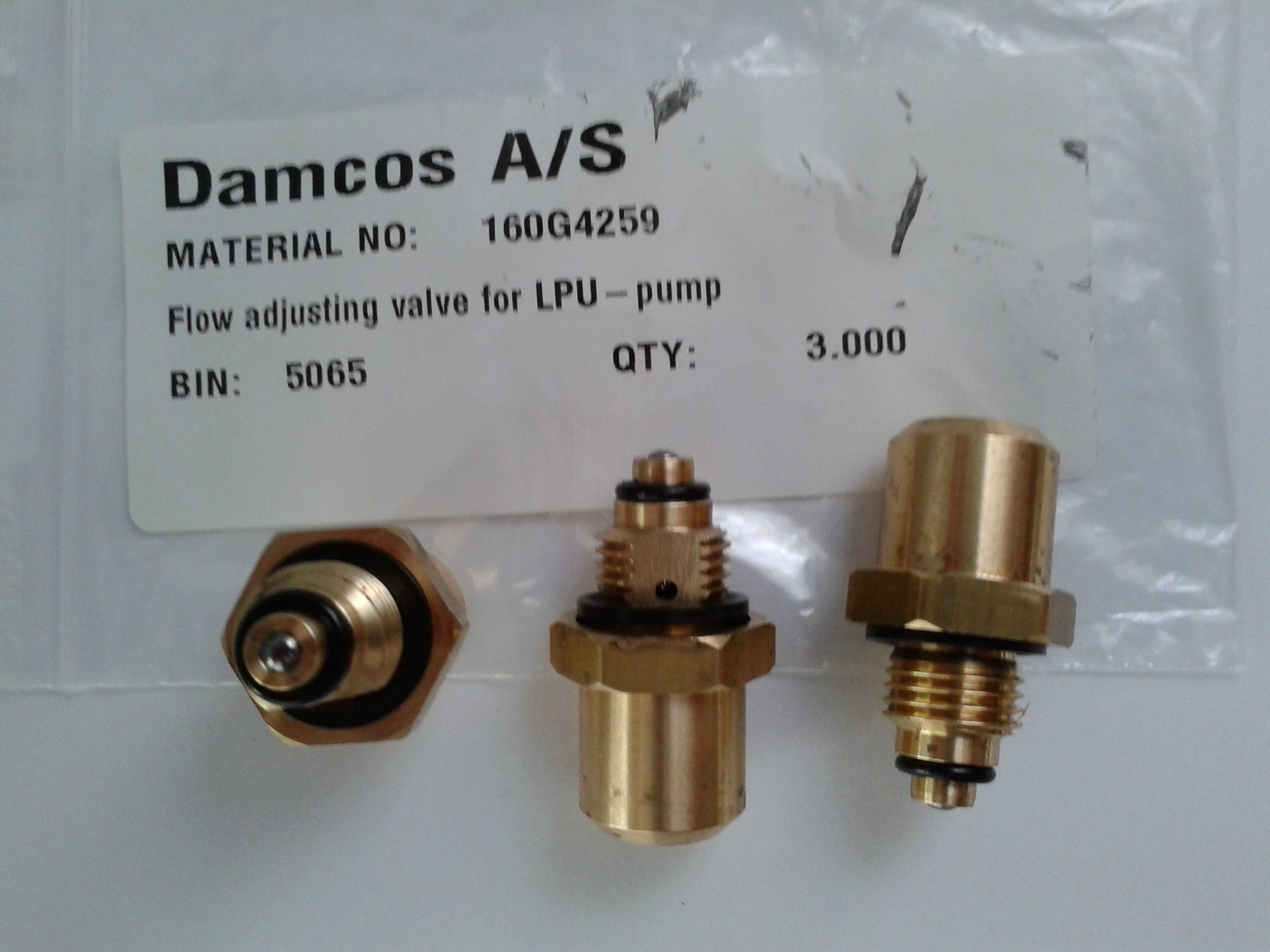 Damcos-160G4259-Flow-Adjusting-Valve-for-LPU-Pump