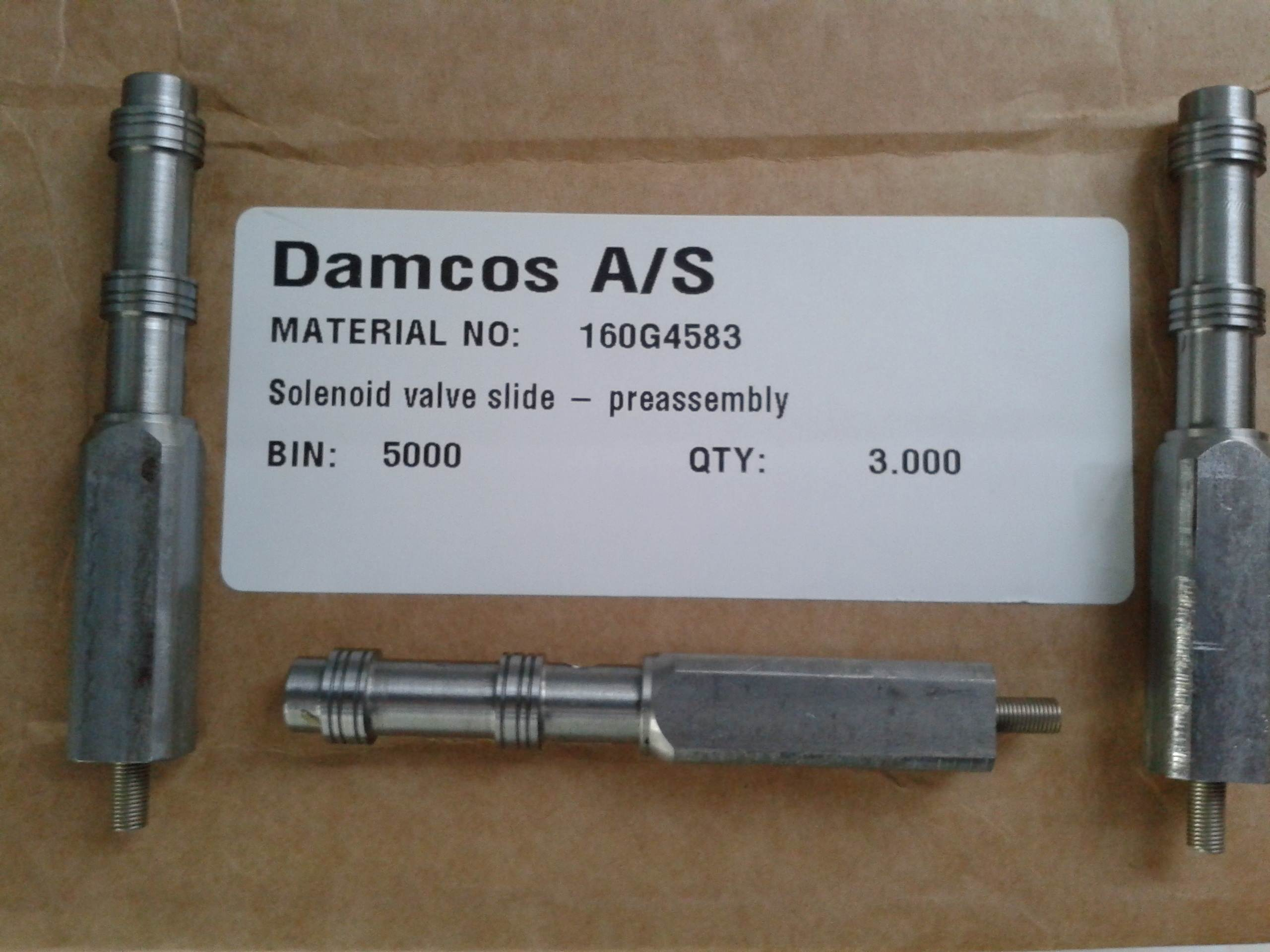 Damcos-160G4583-Solenoid-Valve-Slide-Preassembly-