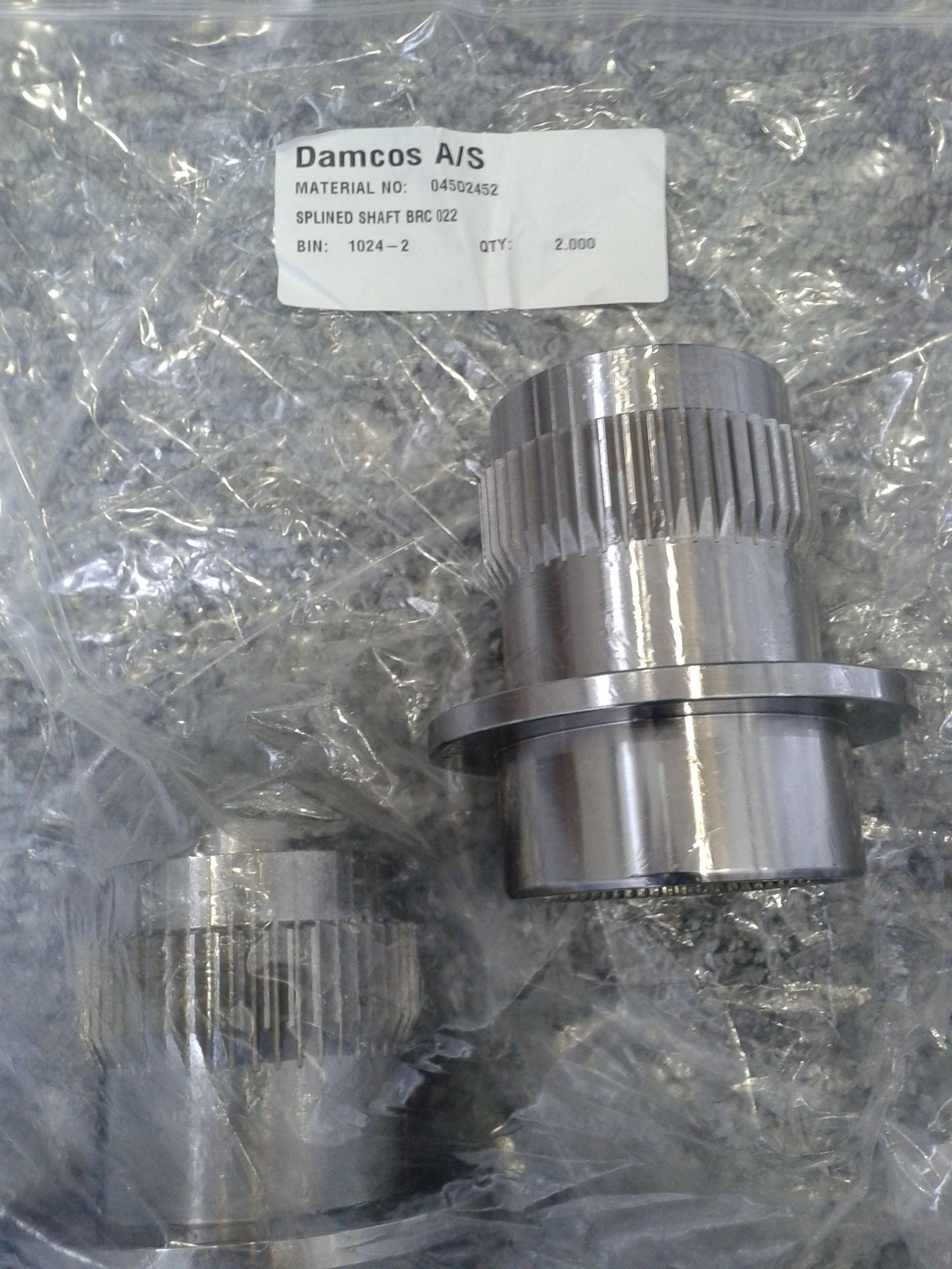 Damcos-BRC-022-A1-Output-Shaft-Part-045D2452