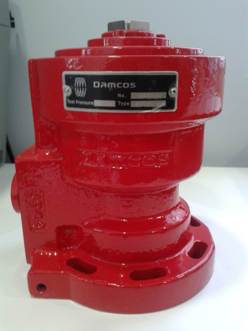 Damcos BRC-500-B1  Hydraulic Double-acting balanced rotary actuator,  90° quarter-turn Part No. 160N1099
