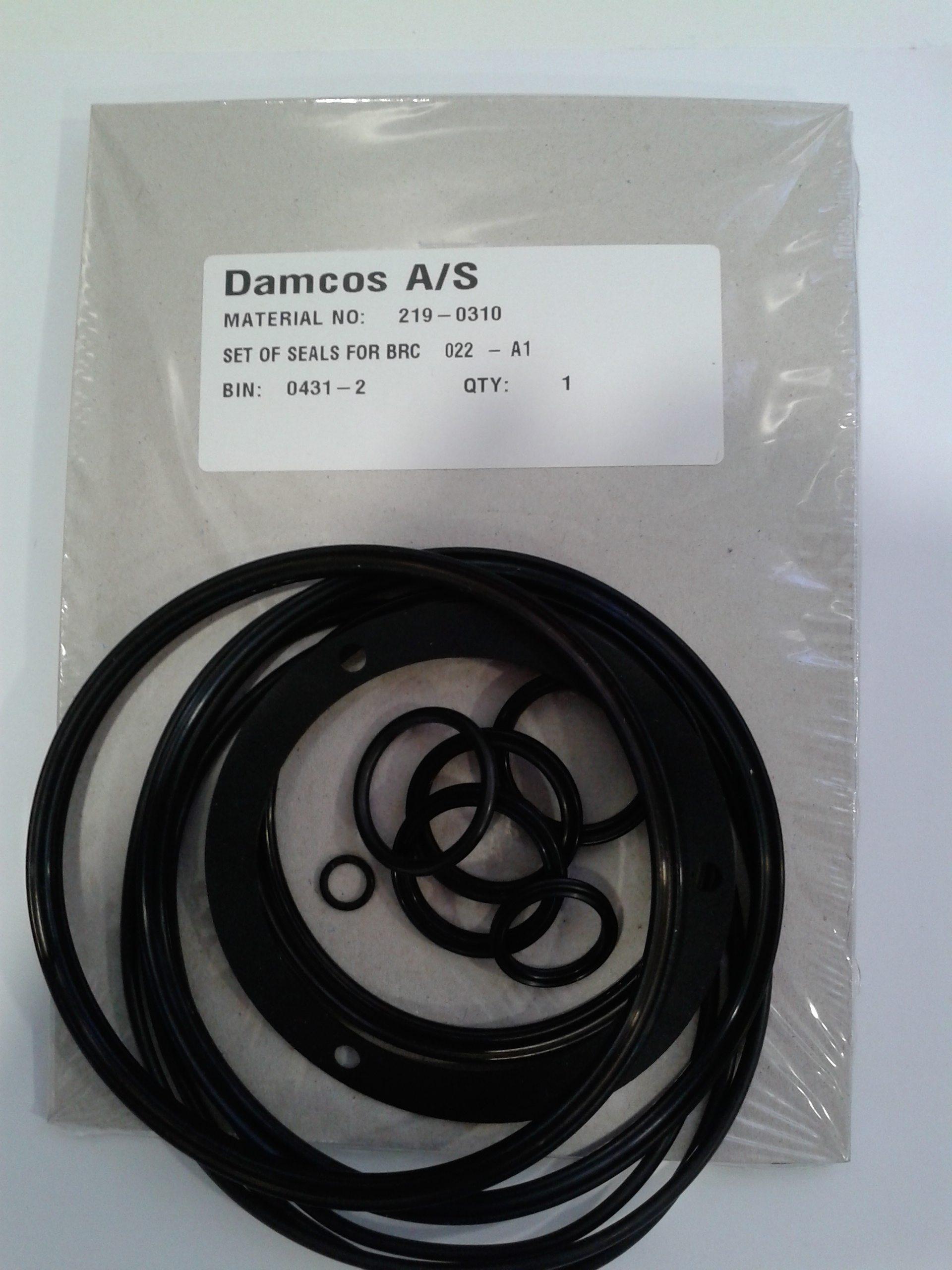 Damcos-Danfoss-BRC-022-A1-Seal-Kit-219-0310