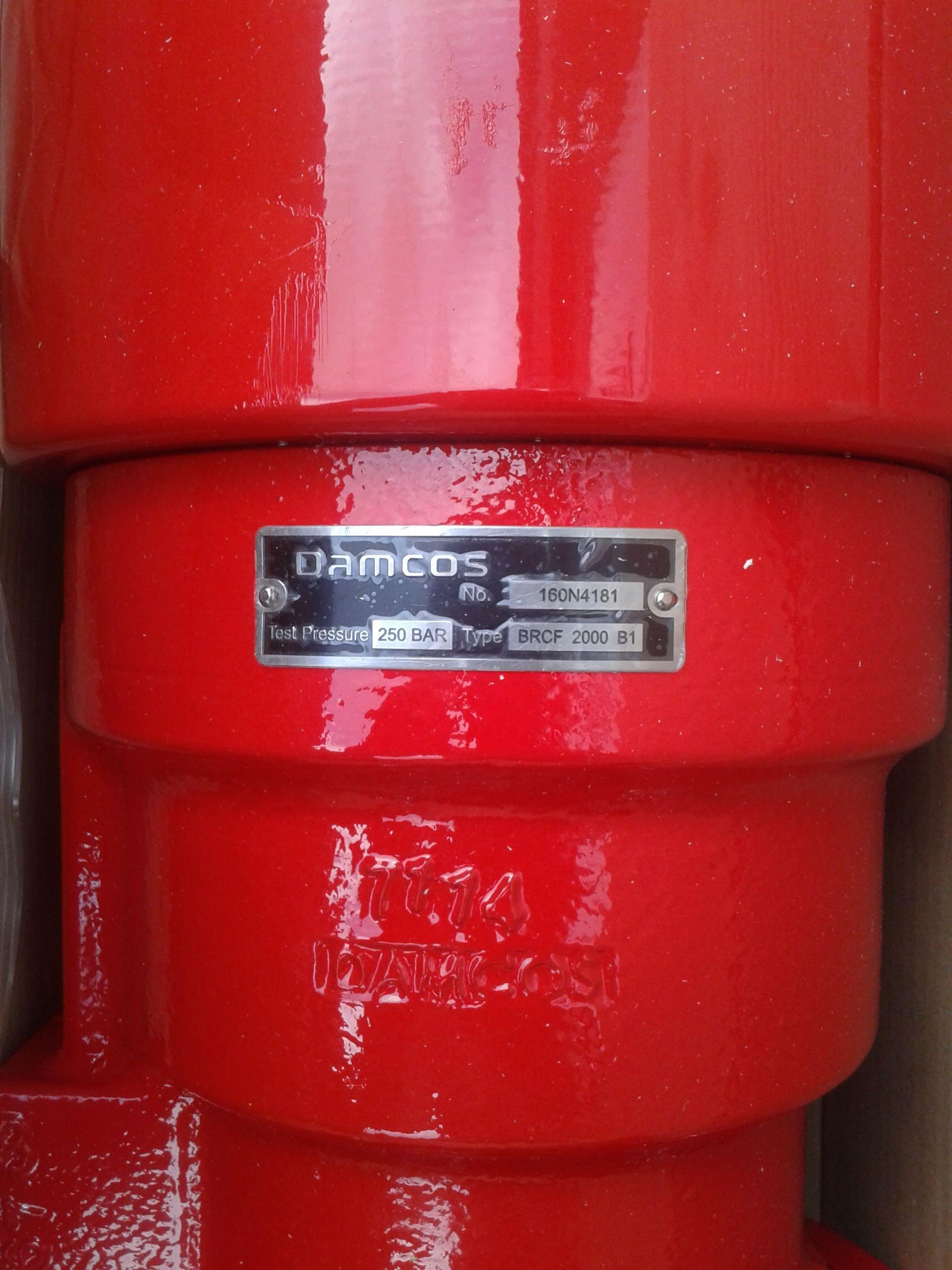 Damcos : Danfoss BRCF 2000 B1 Actuator, 160N4181