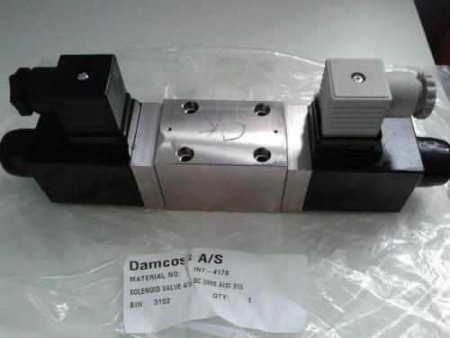 Damcos : Danfoss INT-4019 (INT-4178)  Solenoid Valve 4:3 SC DMS
