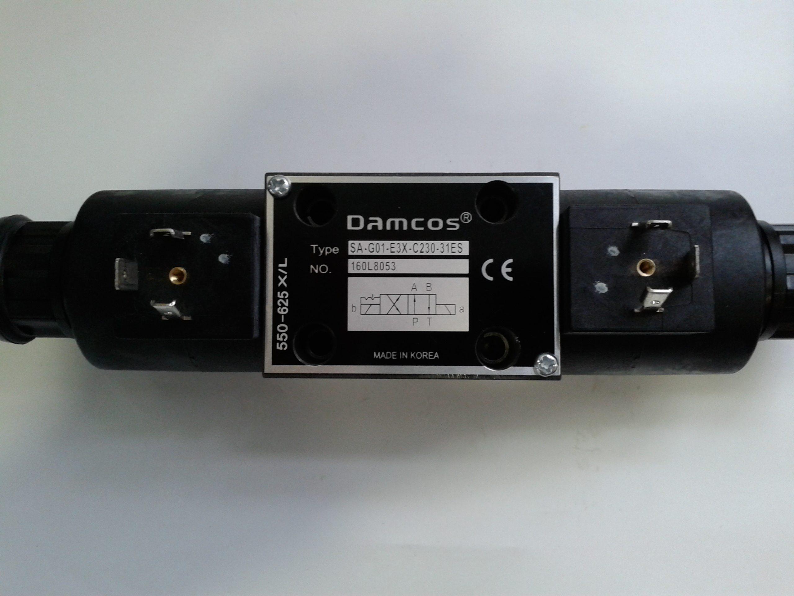 Damcos-Solenoid-Valve-Solenoid-Valve-42-1-0-S-220240VAC-5060-SA-G01-E3X-C230-31ES-Part-No.-160L8052-Replaced-by-160L8053