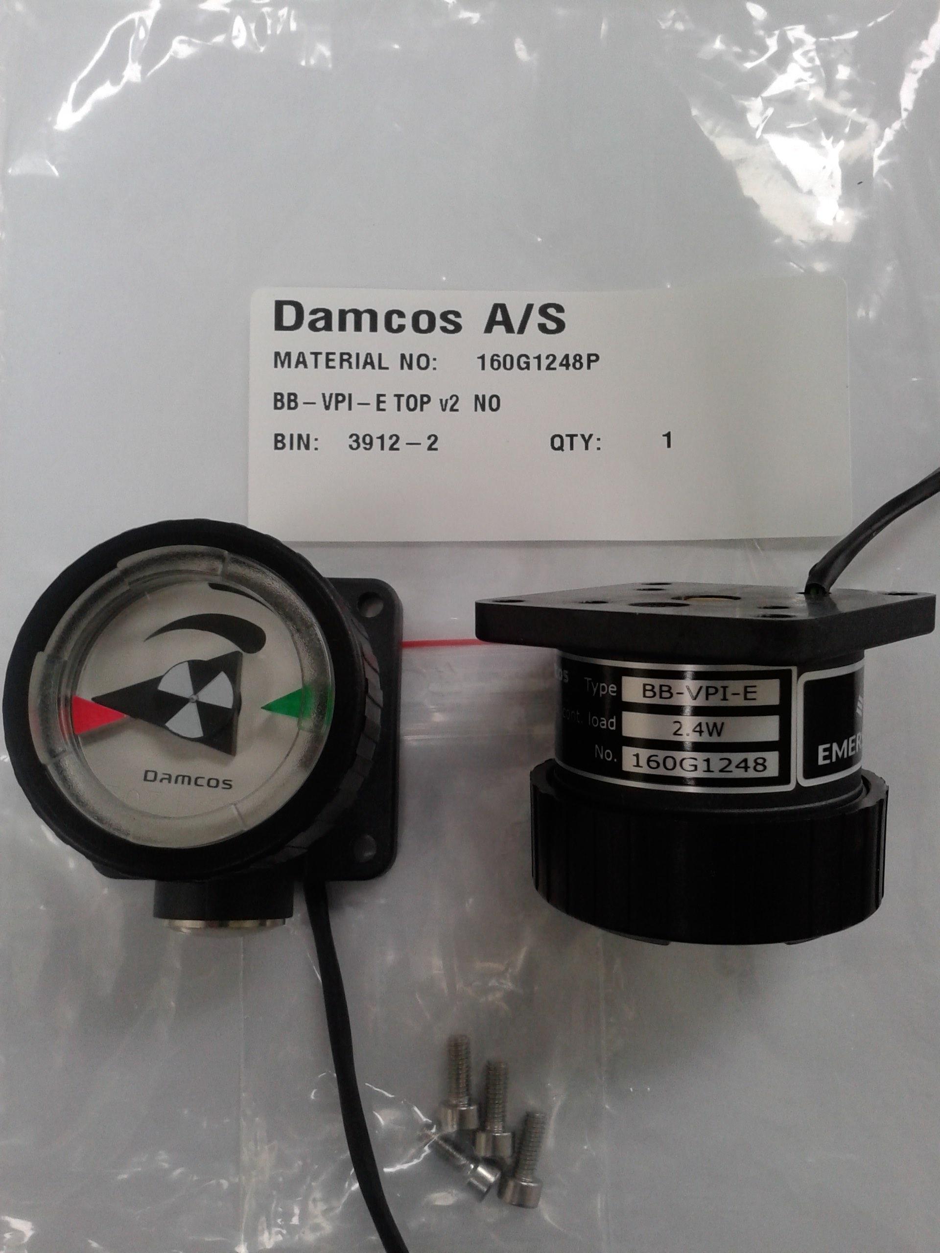 Damcos : Danfoss BB-VPI-E TOP V2 160G1248P