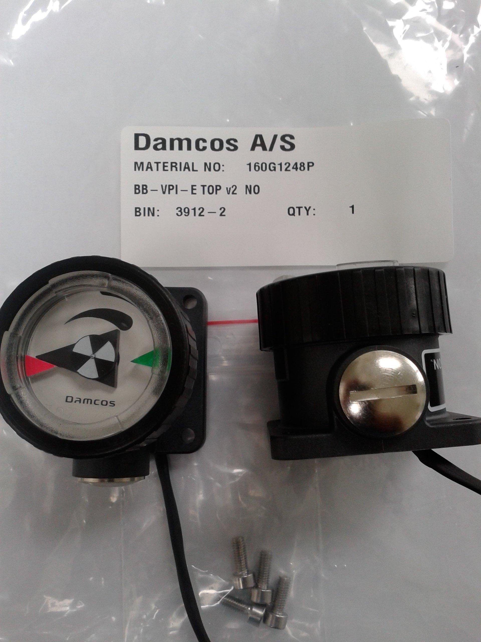 Damcos : Danfoss BB-VPI-E Top V2, Part No 160G1248P