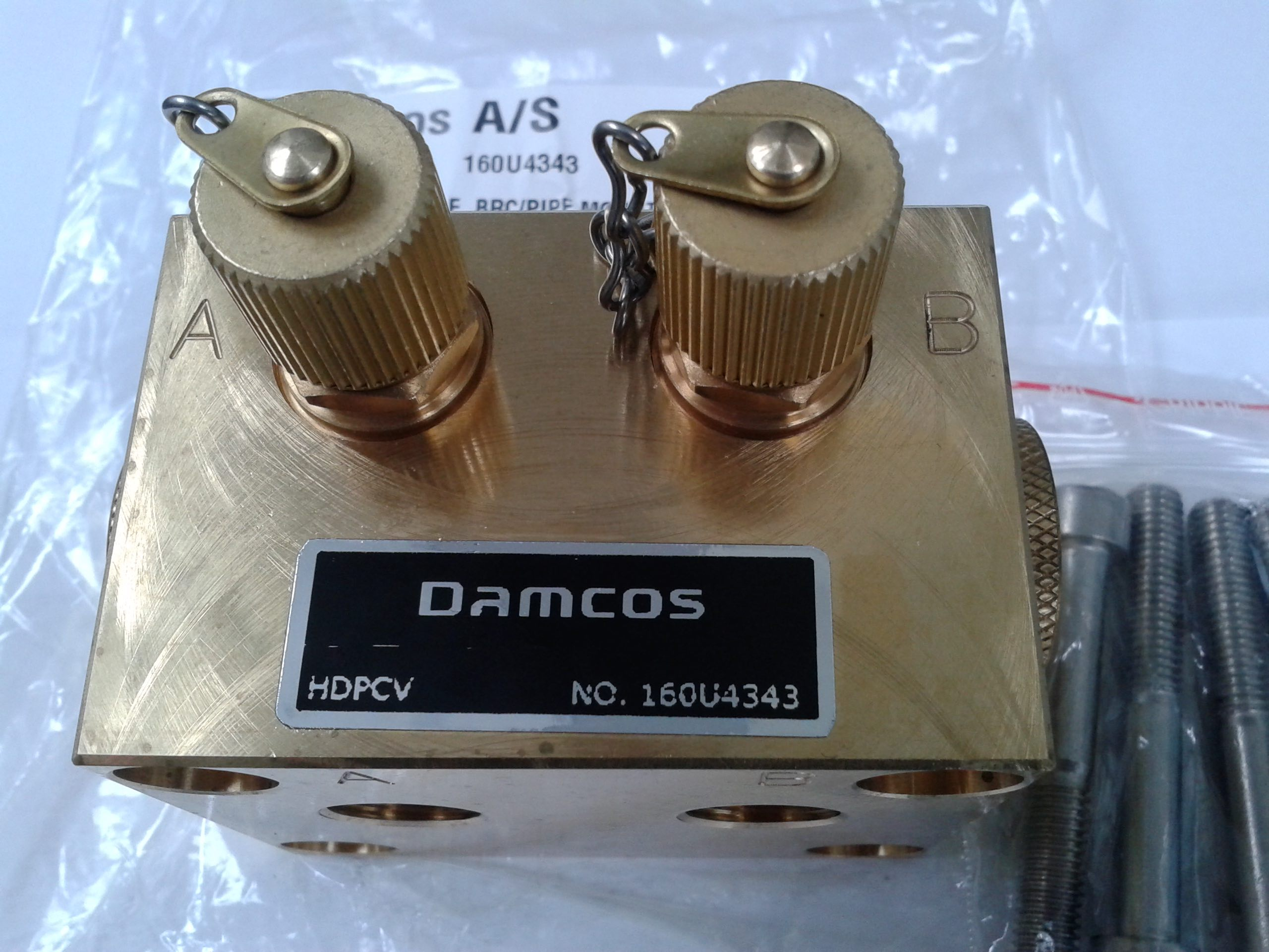 Damcos DanfoSS hdpcv Connection Block for BRC:F 160U4343