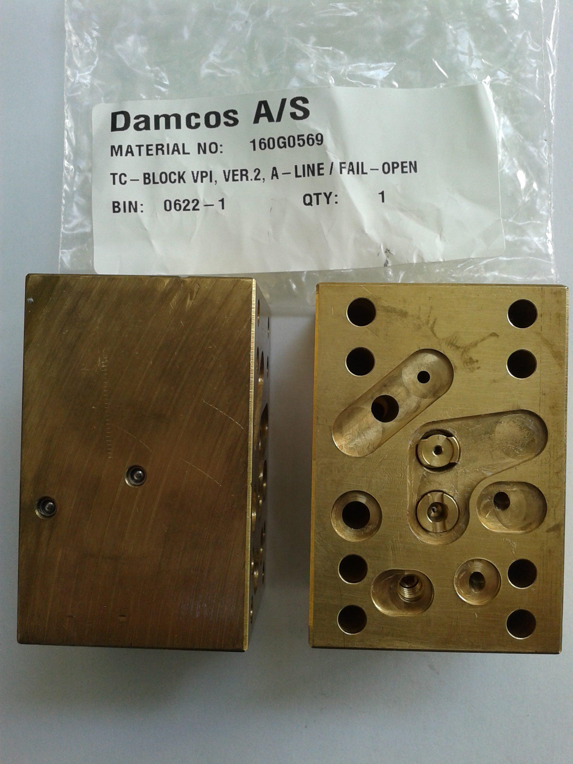 Damcos : Danfoss VPI-TC FO Control Block 160G0569 Fail Open