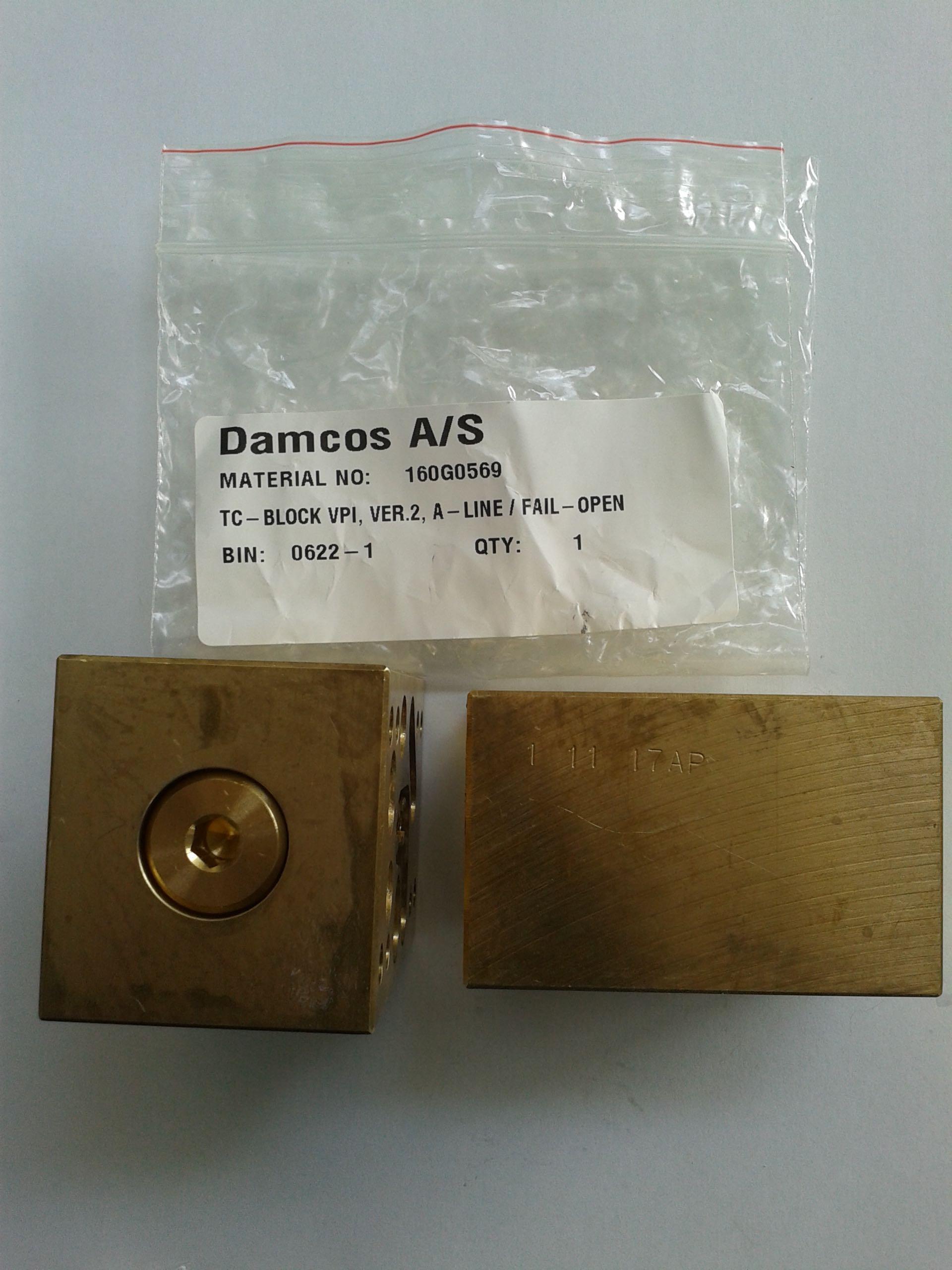 Damcos : Danfoss VPI-TC v2a FO Control Block 160G0569