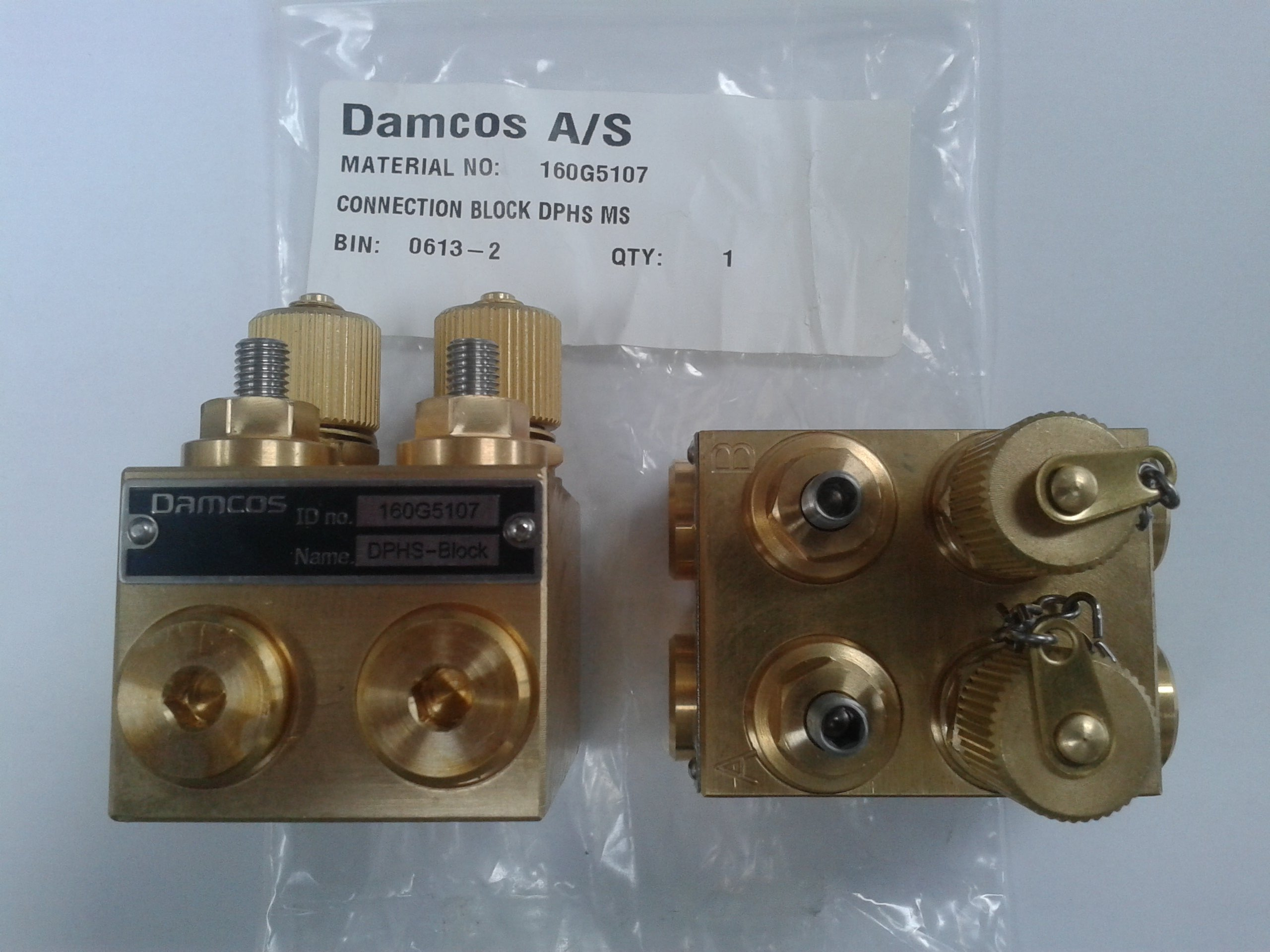 Damcos Pipe Mount Block DHPS 160G5107