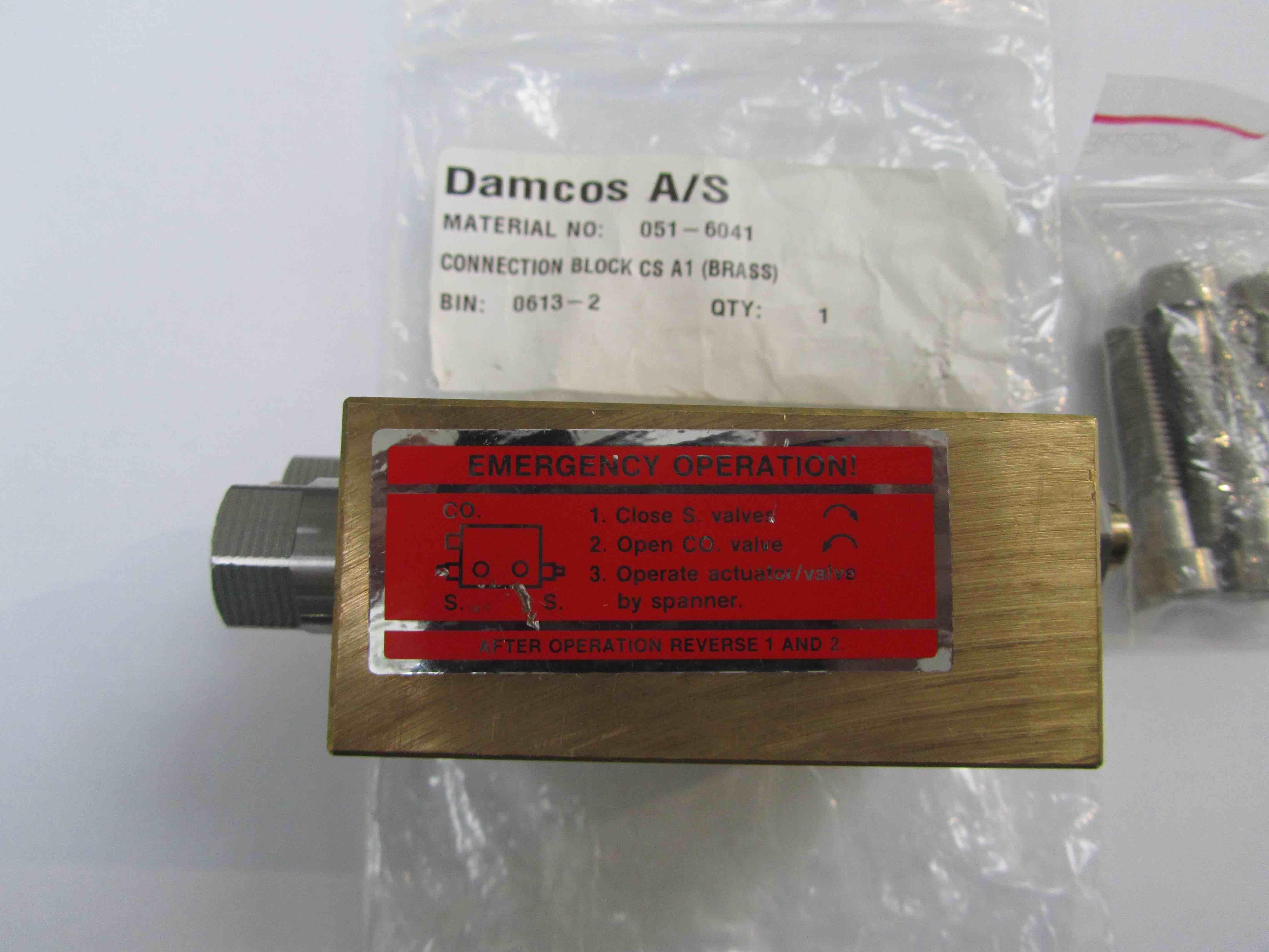 Damcos 051-6041 Block