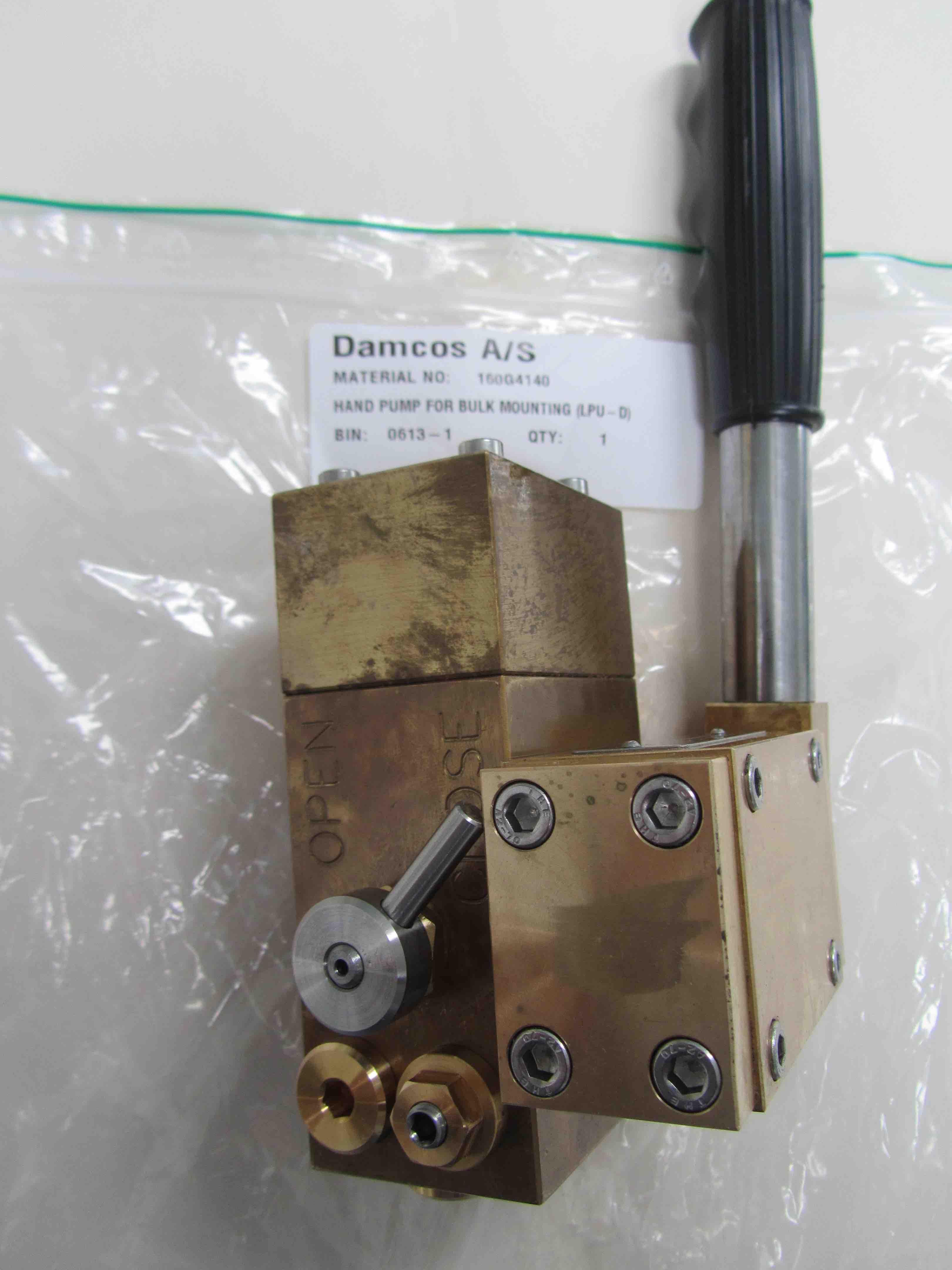 160G4140 Hand Pump for LPU-D