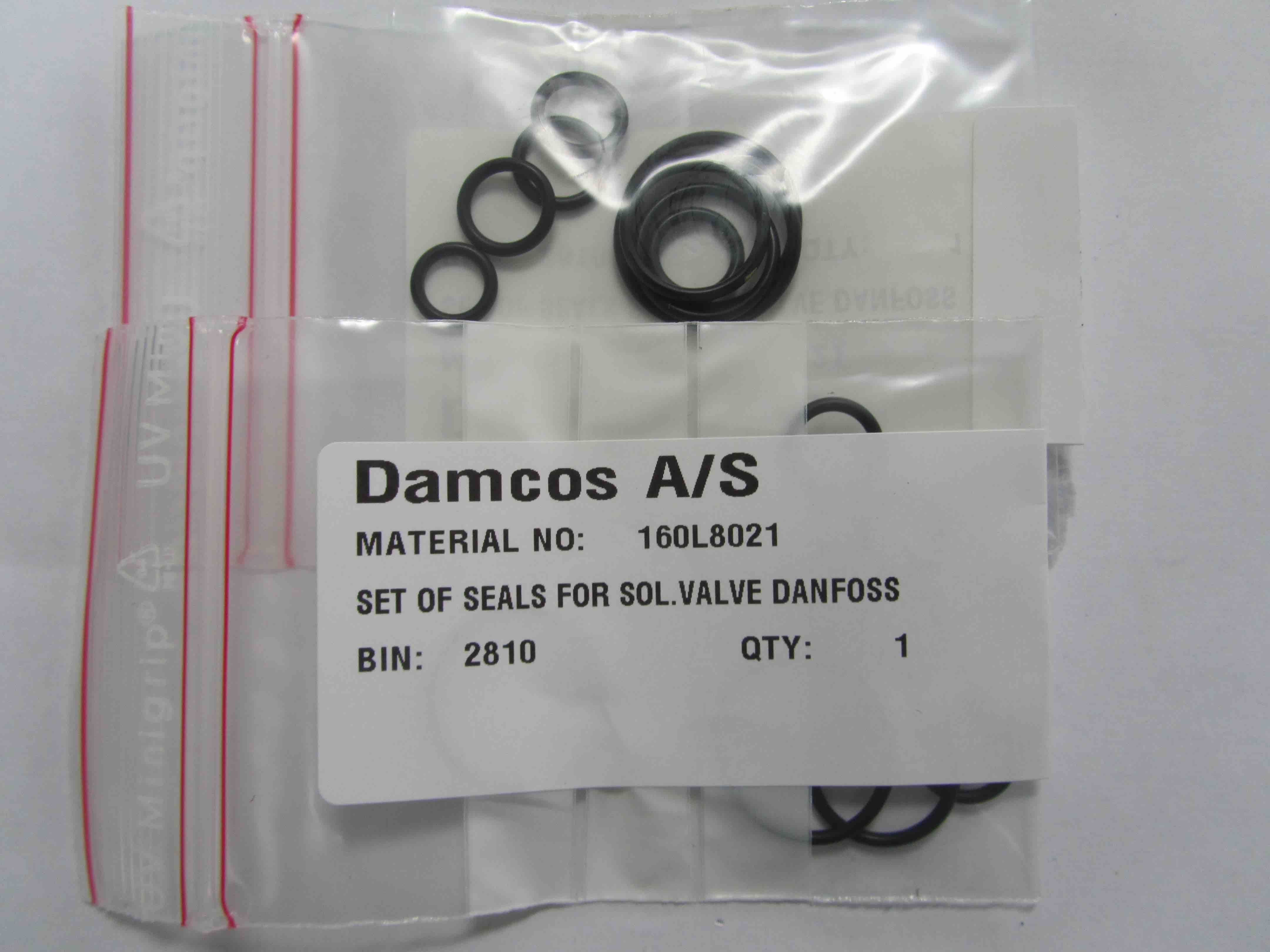 160L8021 Damcos Solenoid Valve Seal Kit