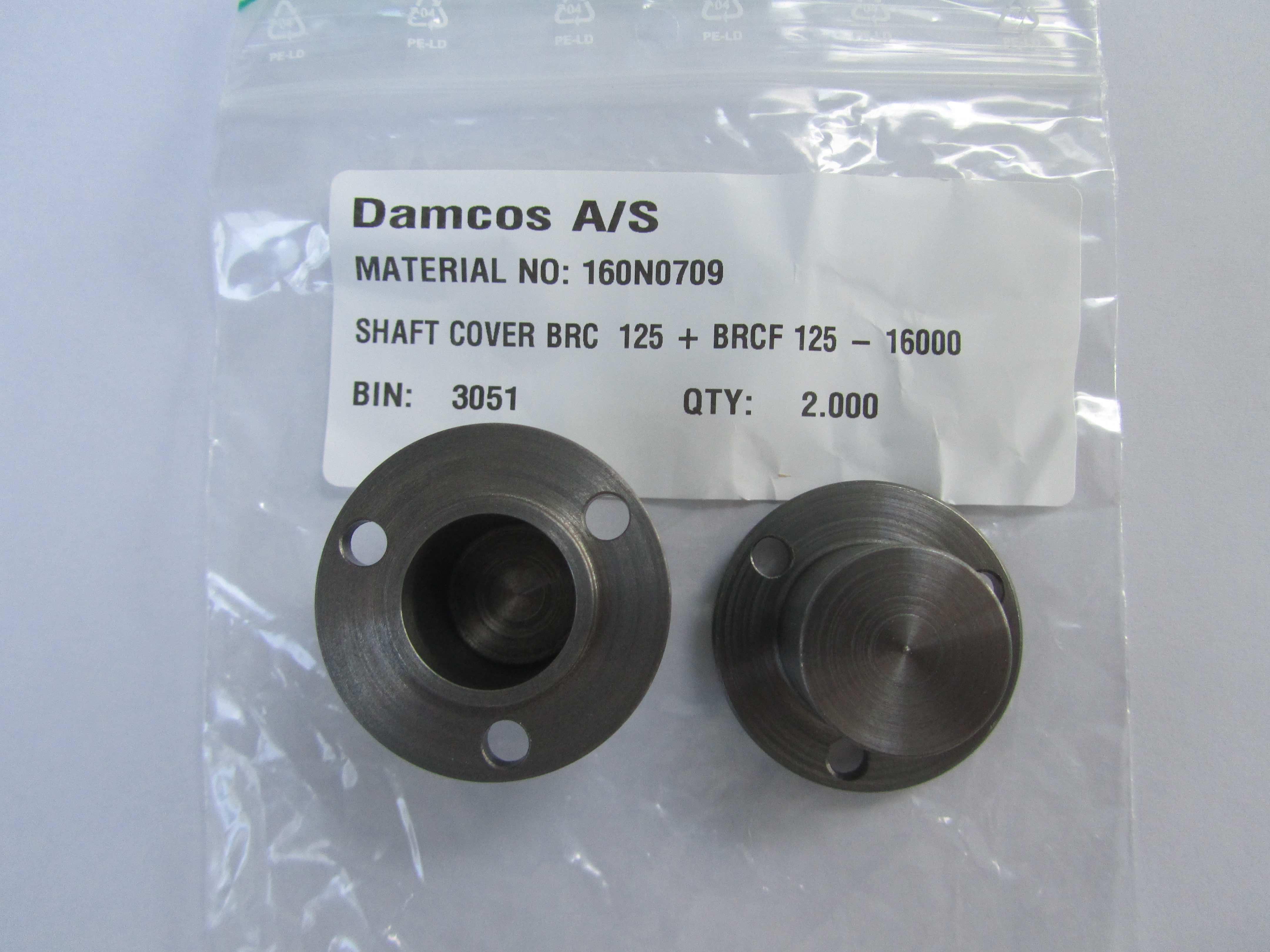 160N0709 BRC 125  Shaft Cover