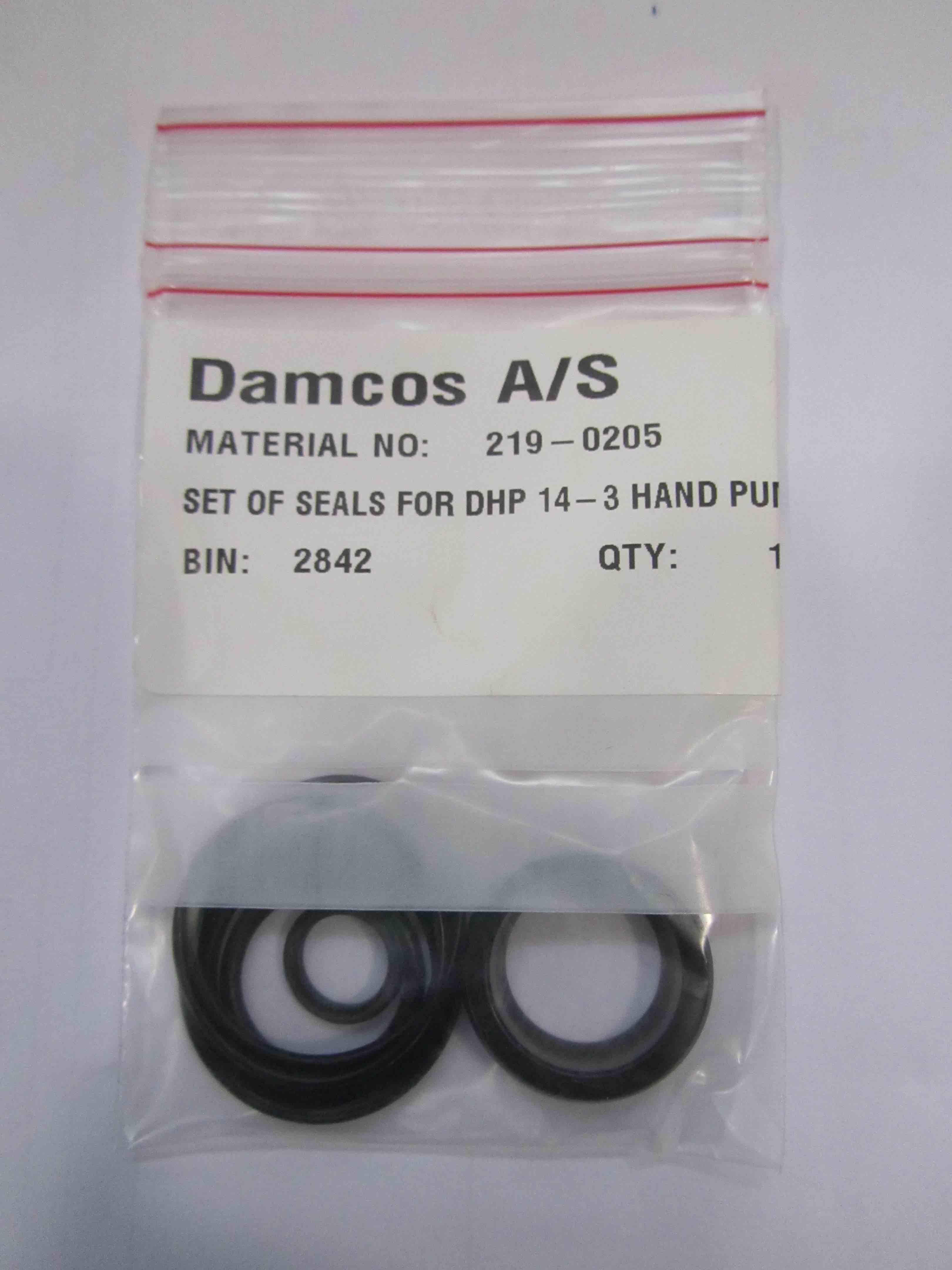219-0205 DHP14-3 Seal Kit