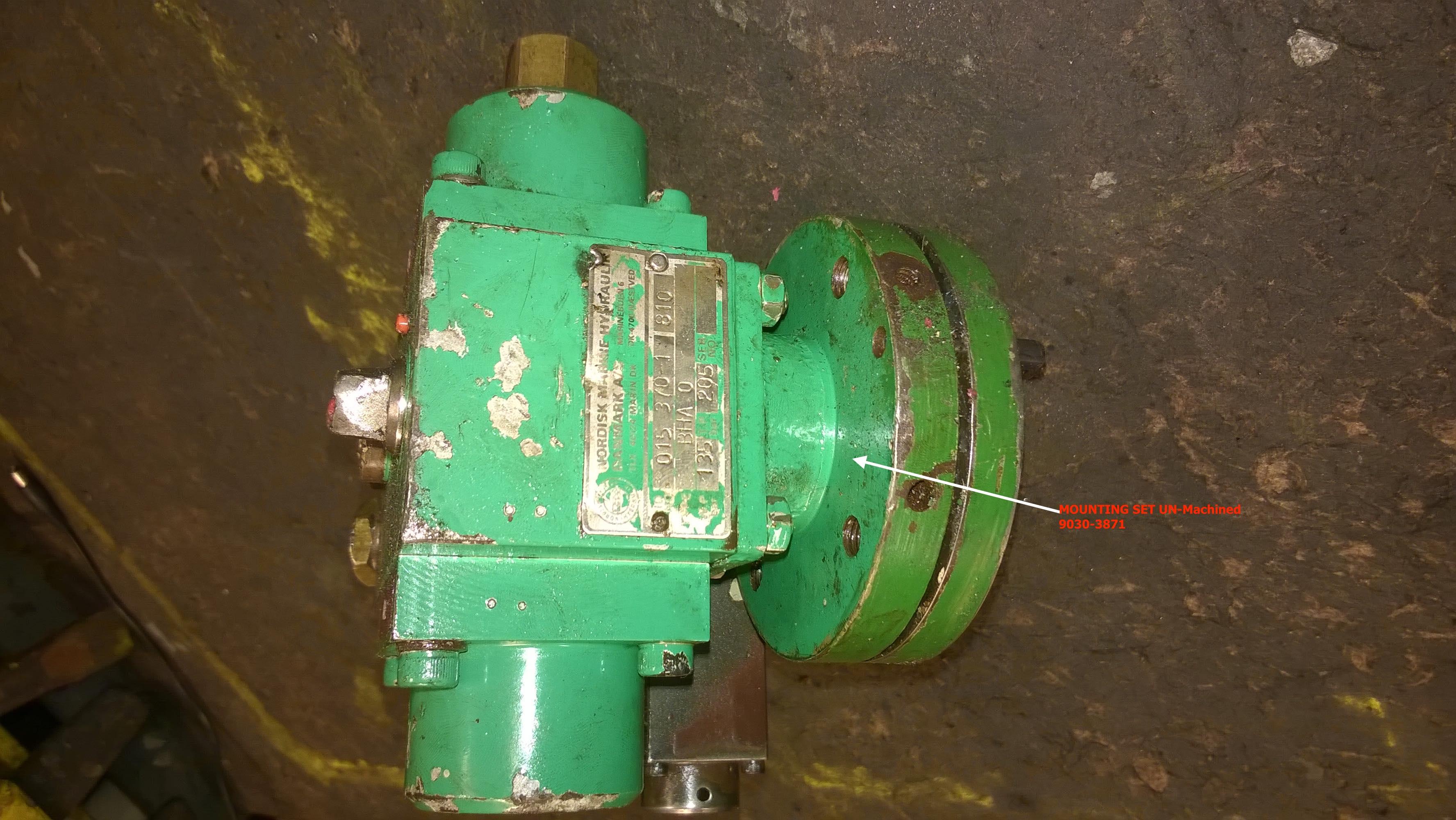 BHA-0 UN-Machined Mounting Set 9030-3871