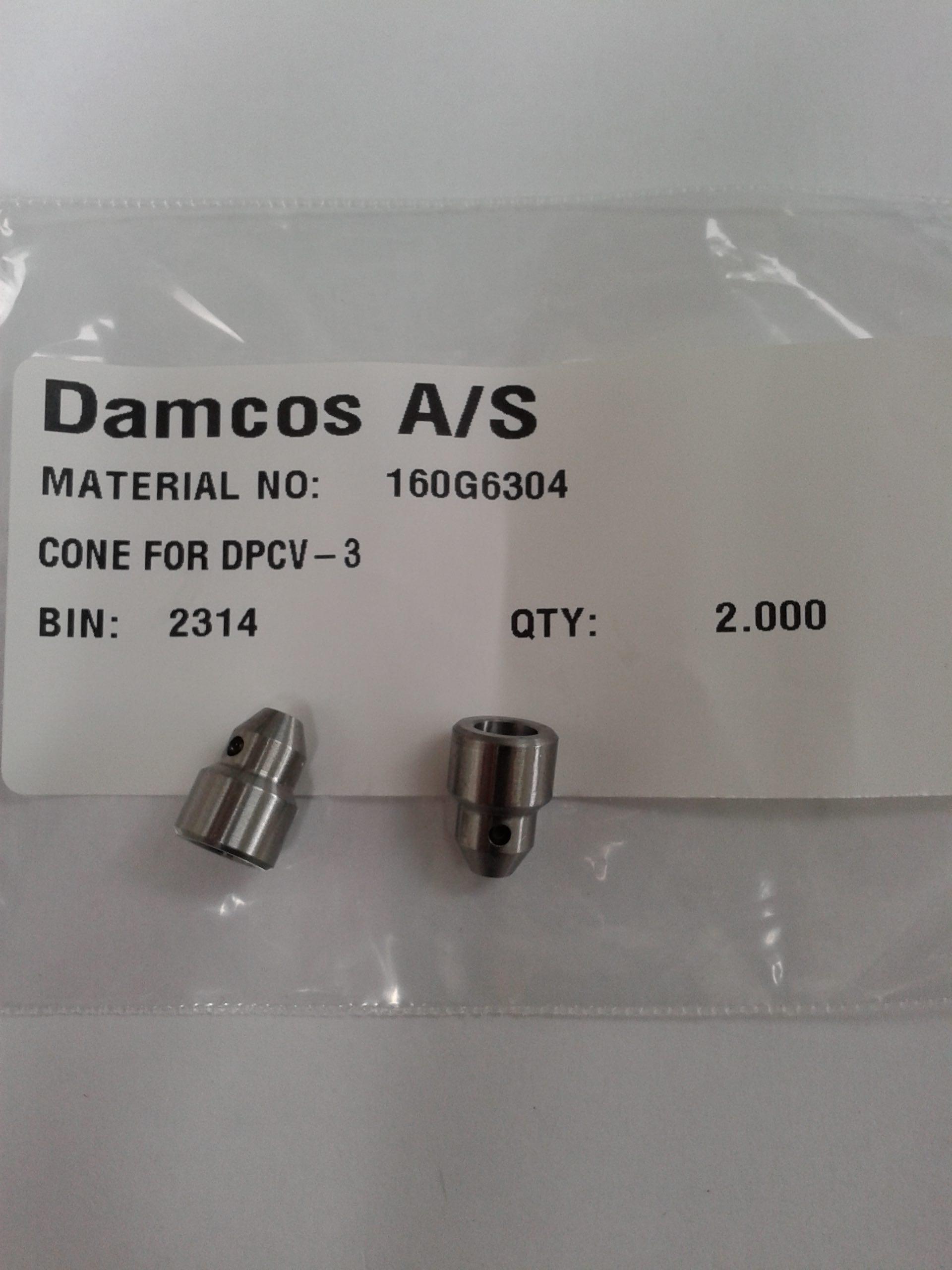 Damcos: Danfoss DPCV-3 Cone, Part No- 160G6304