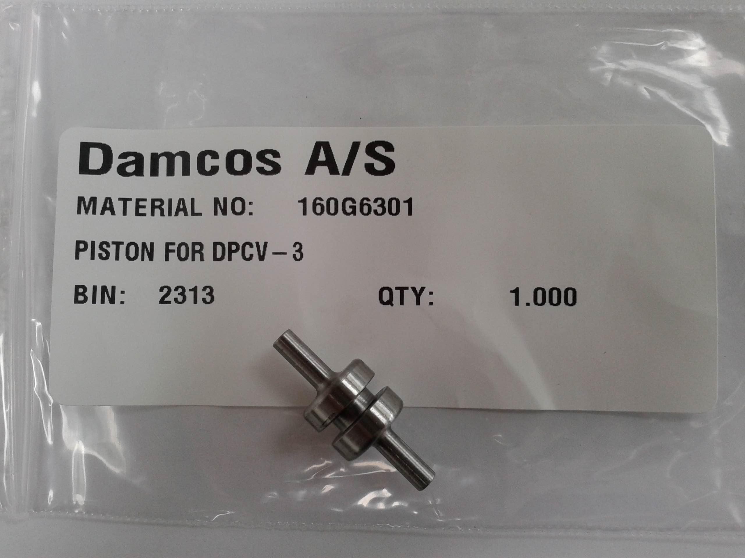 Damcos: Danfoss DPCV-3 Piston, Part No- 160G6301
