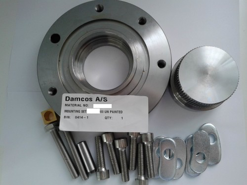 Damcos BRC-032 Un-Painted-Mounting-Set 055-3011