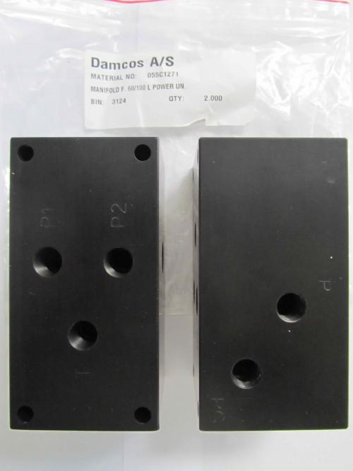 055C1271 Manifold for 60:100Ltr Power Unit