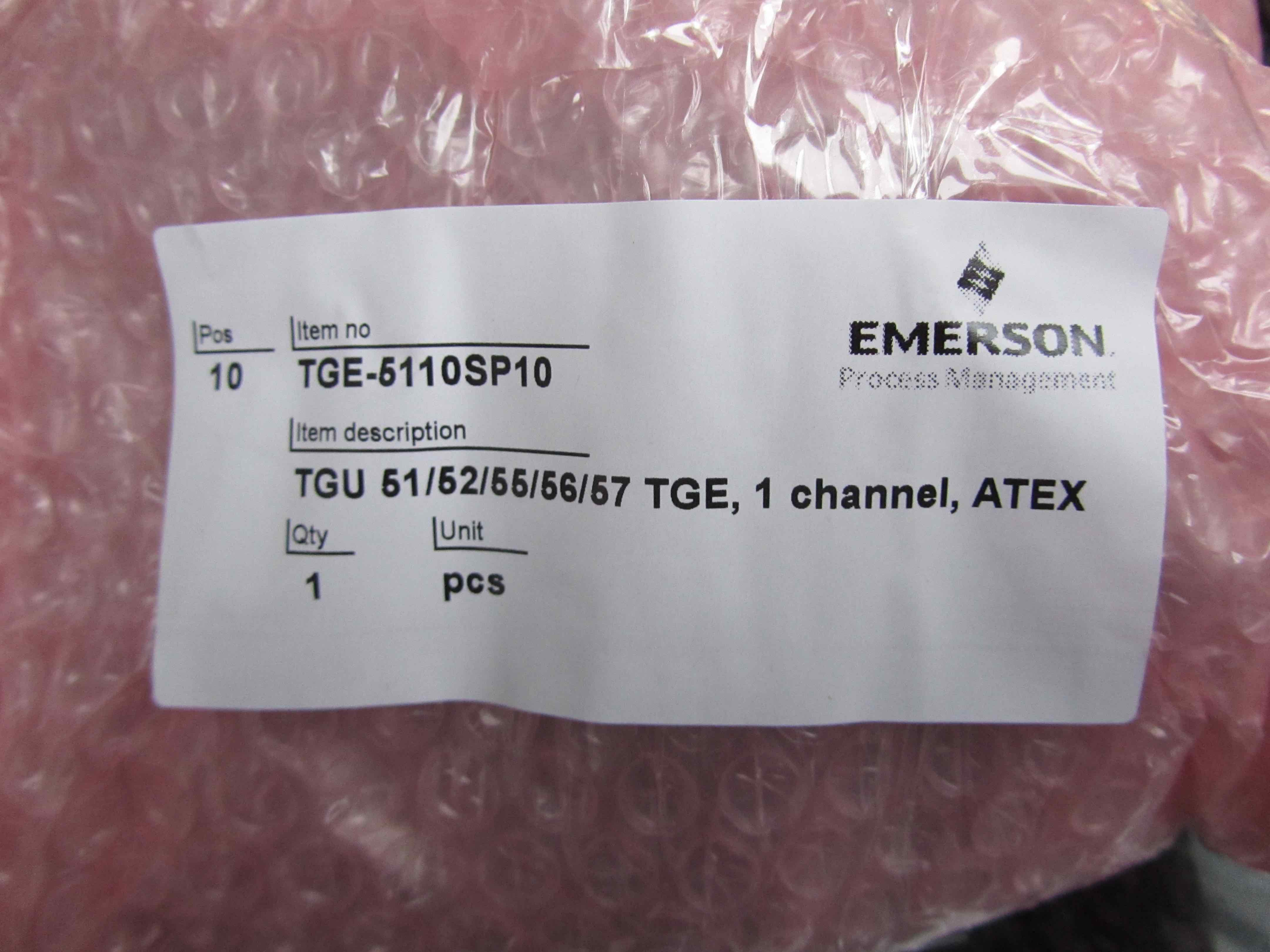 TGE-5110SP10 1 Channel ATEX