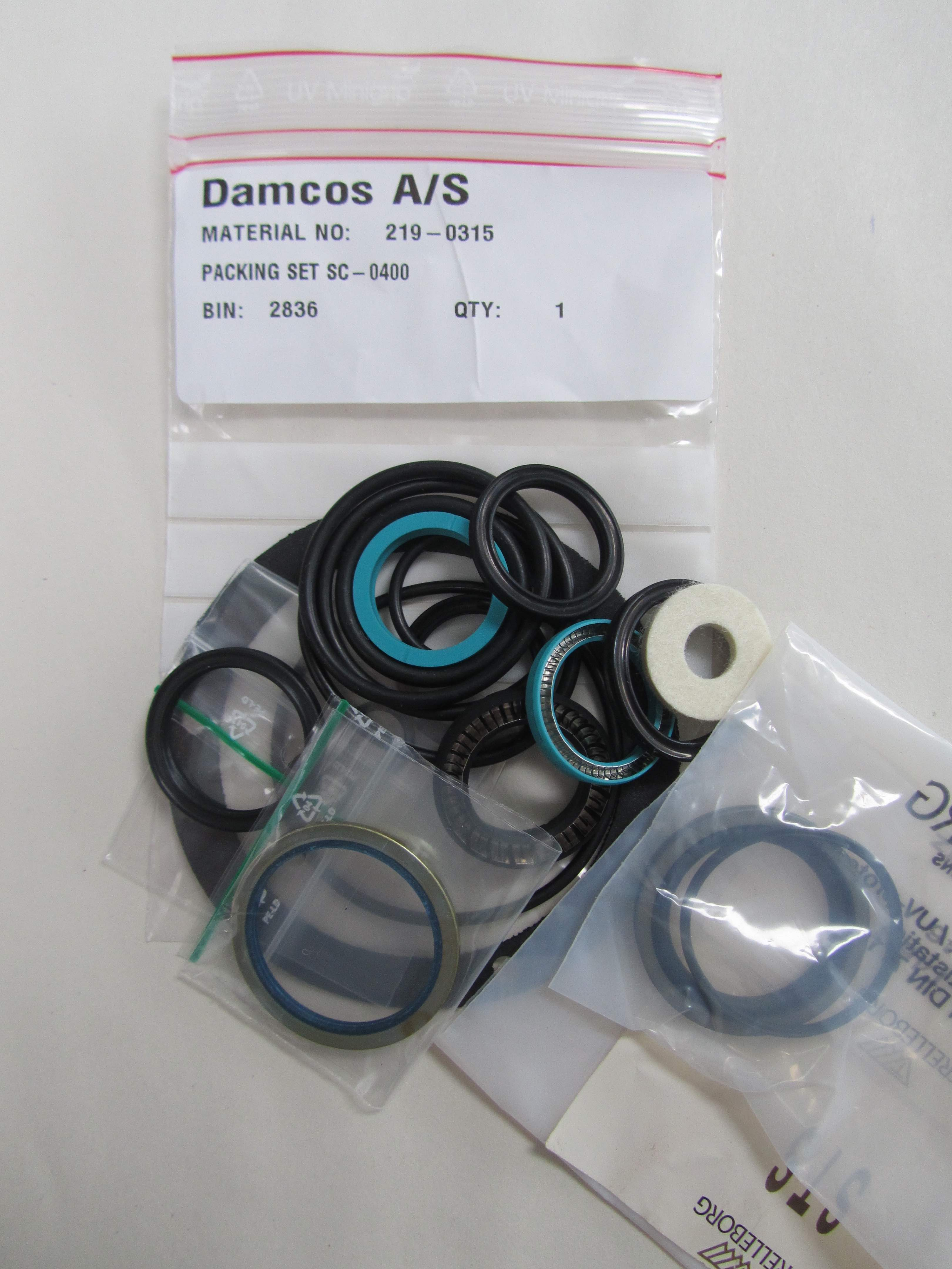 219-0315 SC 0400 Seal : Packing kit