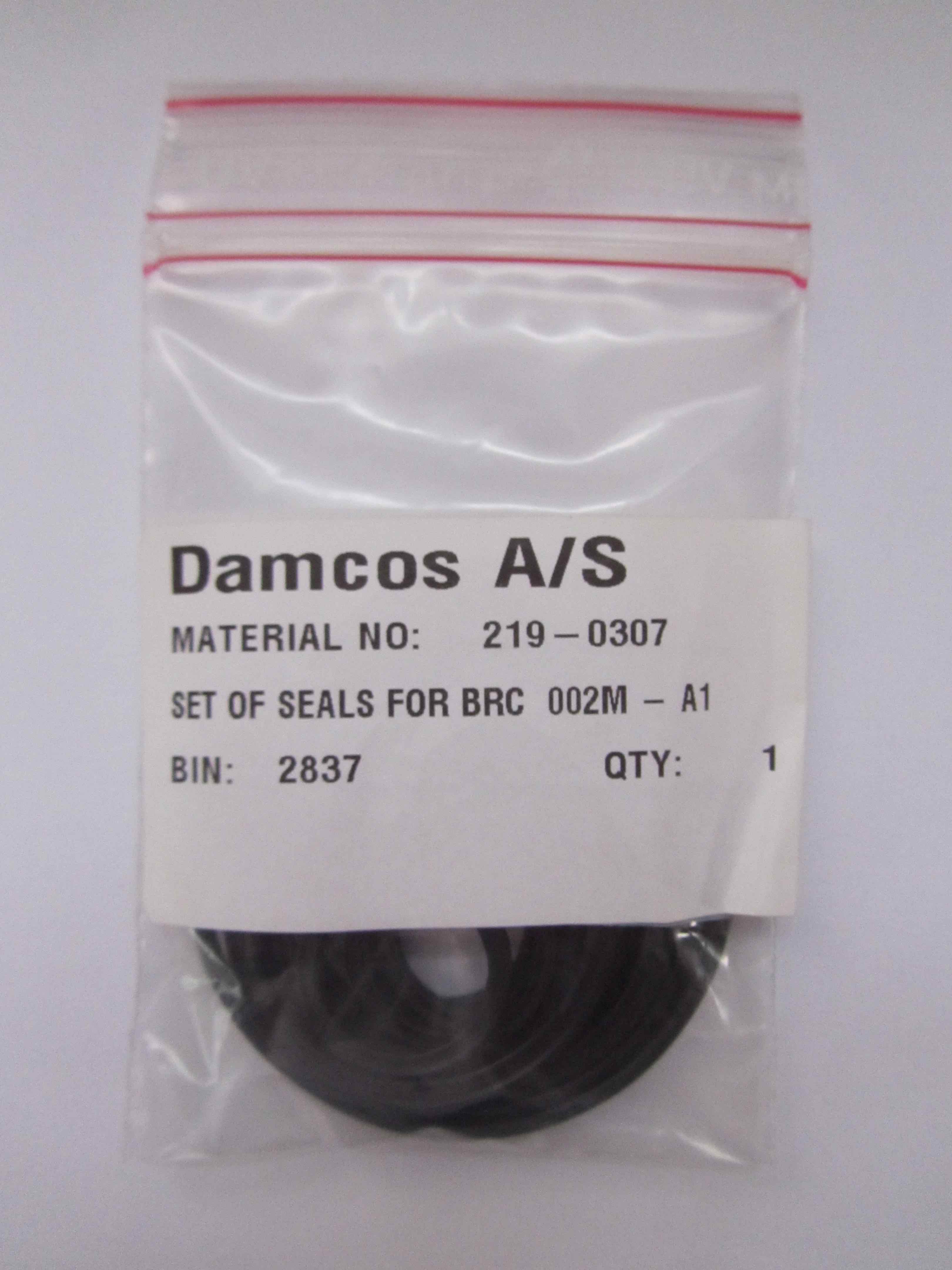 Damcos : Danfoss BRC 002M 219-0307 Seal Kit