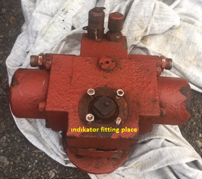 BHA-1 Actuator with Top Mounted Potentiometer 9021-3152