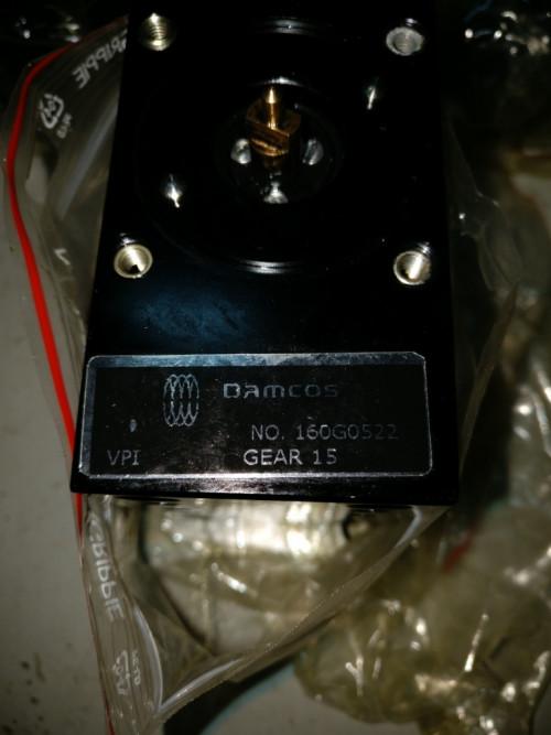 Bottom part VPI 160G0522P GEAR 15 Assembly